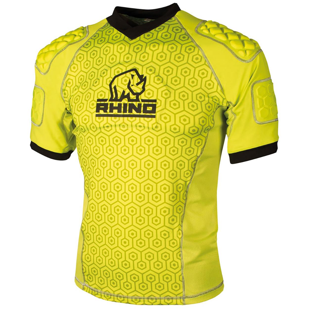 Rhino Unisex Adult Pro Body Protection Top (S) (Black)