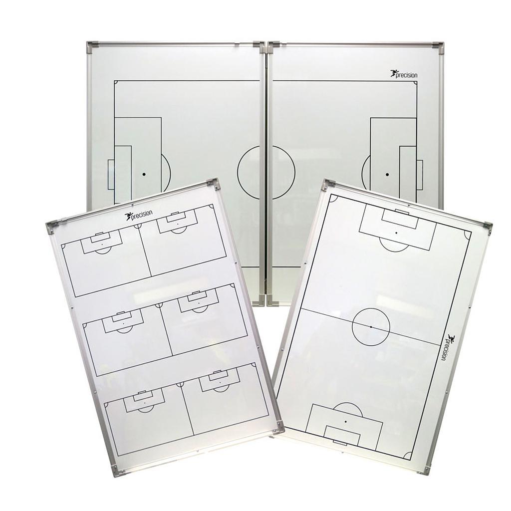 Precision Foldable Double-Sided Tactics Board (90cm x 120cm) (White/Grey/Black)
