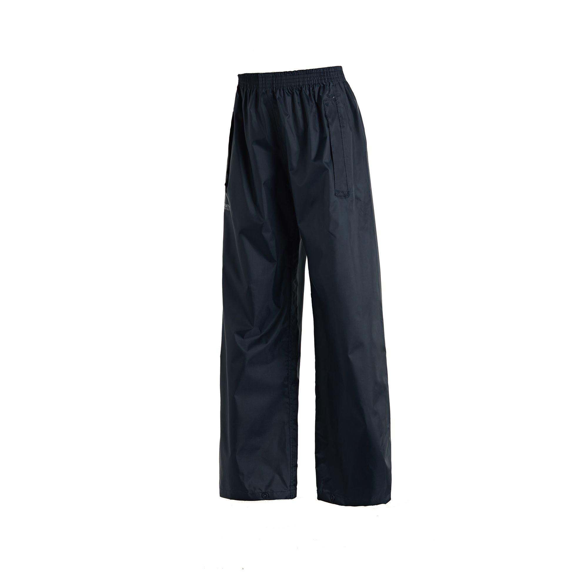 Regatta Great Outdoors Unisex Stormbreak Waterproof Over Trousers (9-10 Years) (Navy)