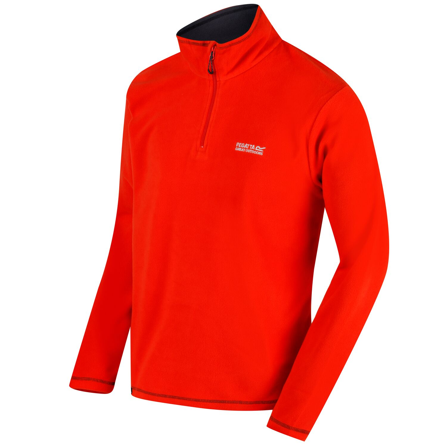 Regatta-Great-Outdoors-Para-Hombre-Thompson-Half-Zip-Polar-Top-RG1390 miniatura 13