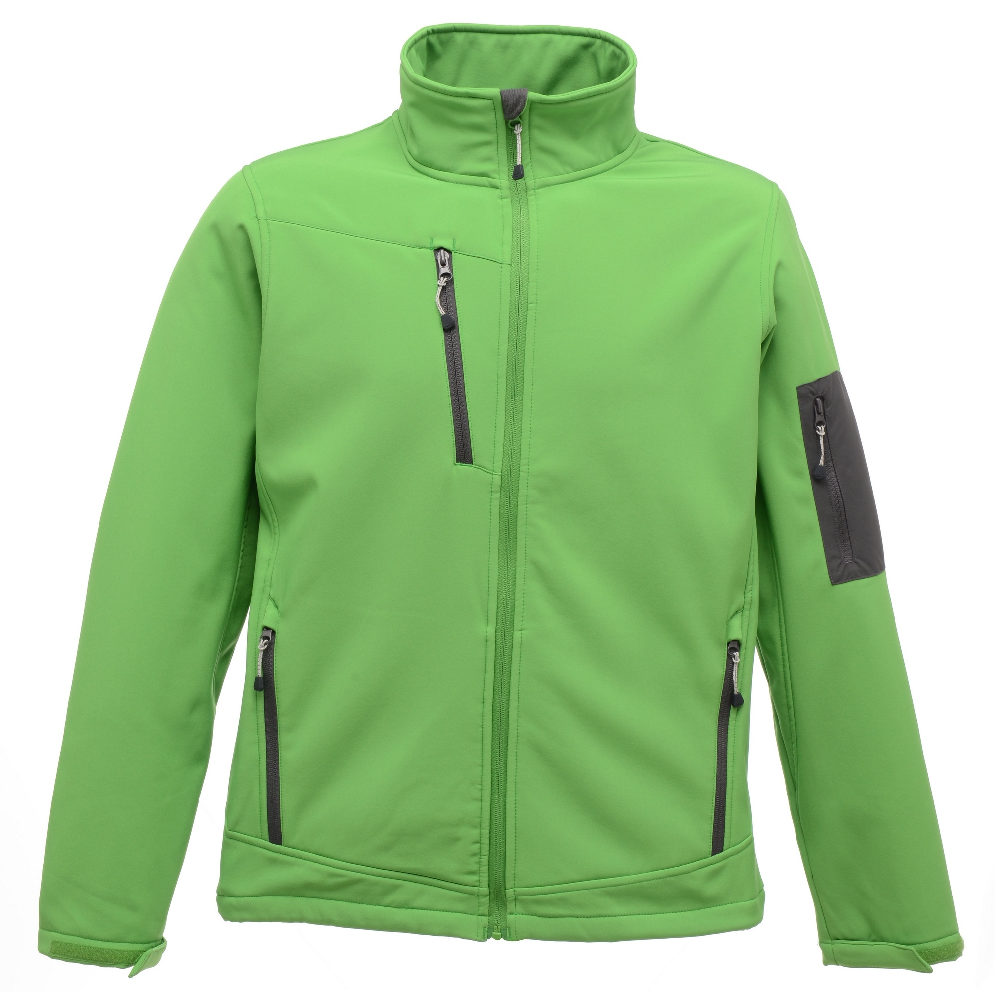 Regatta Standout Mens Arcola 3 Layer Waterproof And Breathable Softshell Jacket (XL) (Extreme Green/Seal Grey)