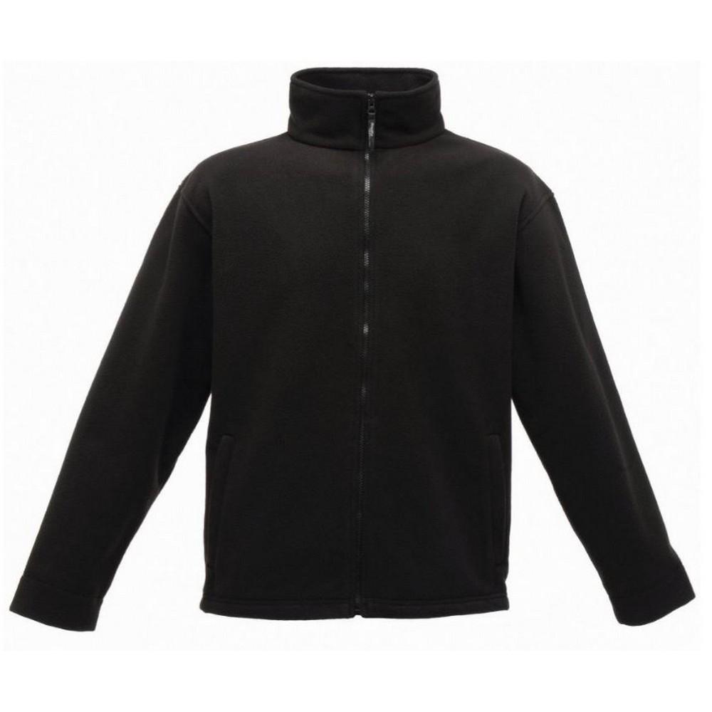 Regatta Mens Thor 350 Full Zip Fleece Jacket (S) (Black)