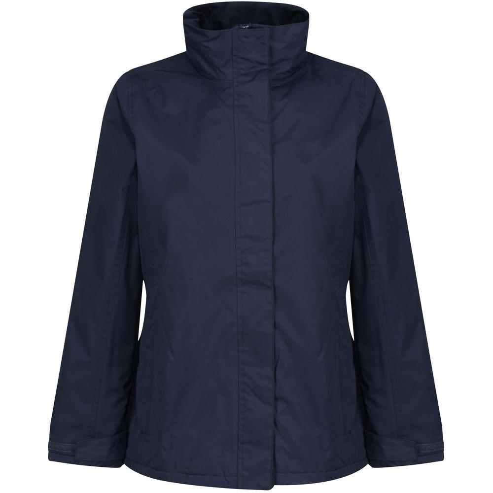 Regatta Womens/Ladies Beauford Insulated Waterproof Windproof Performance Jacket (18) (Navy)