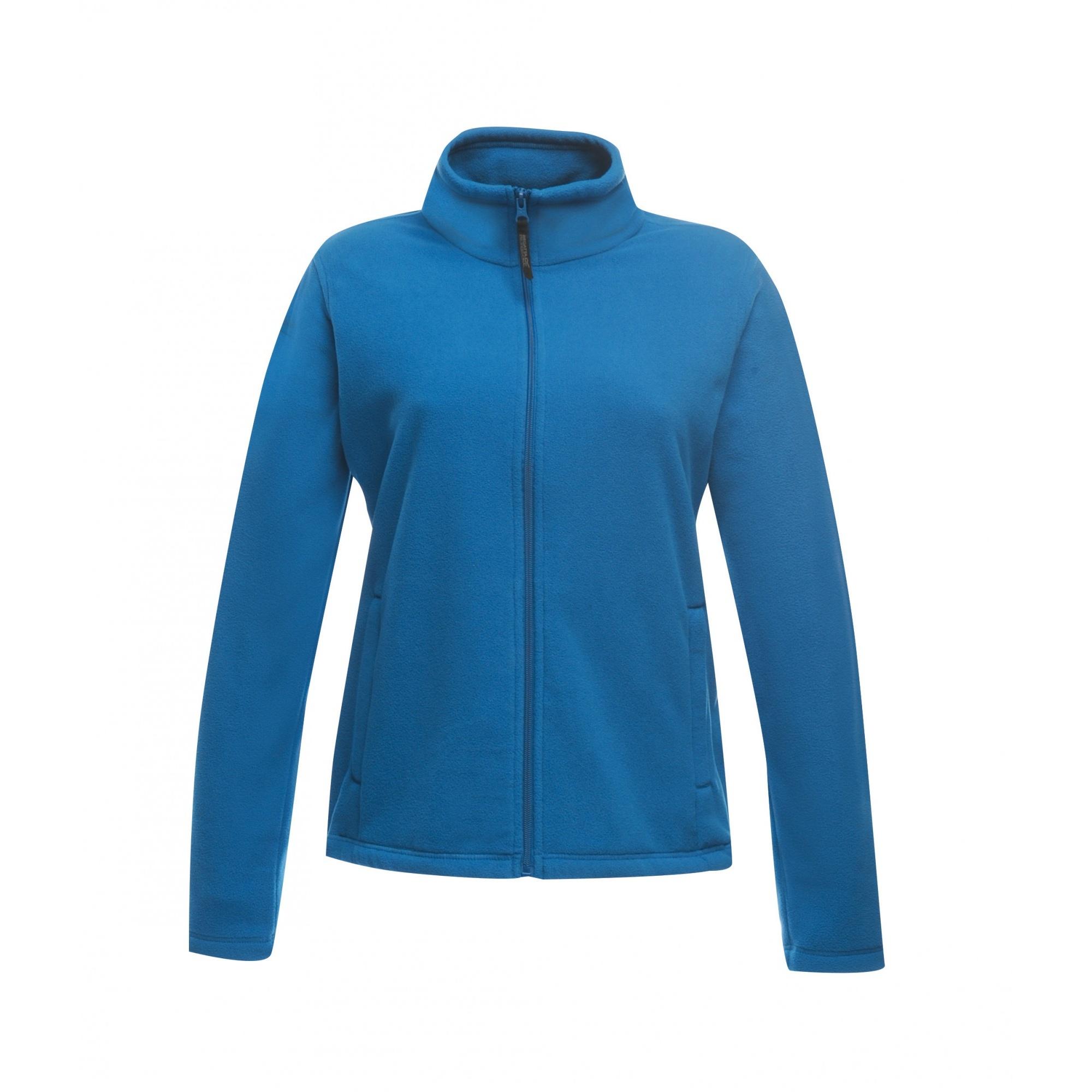 Regatta Womens/Ladies Full-Zip 210 Series Microfleece Jacket (10) (Black)