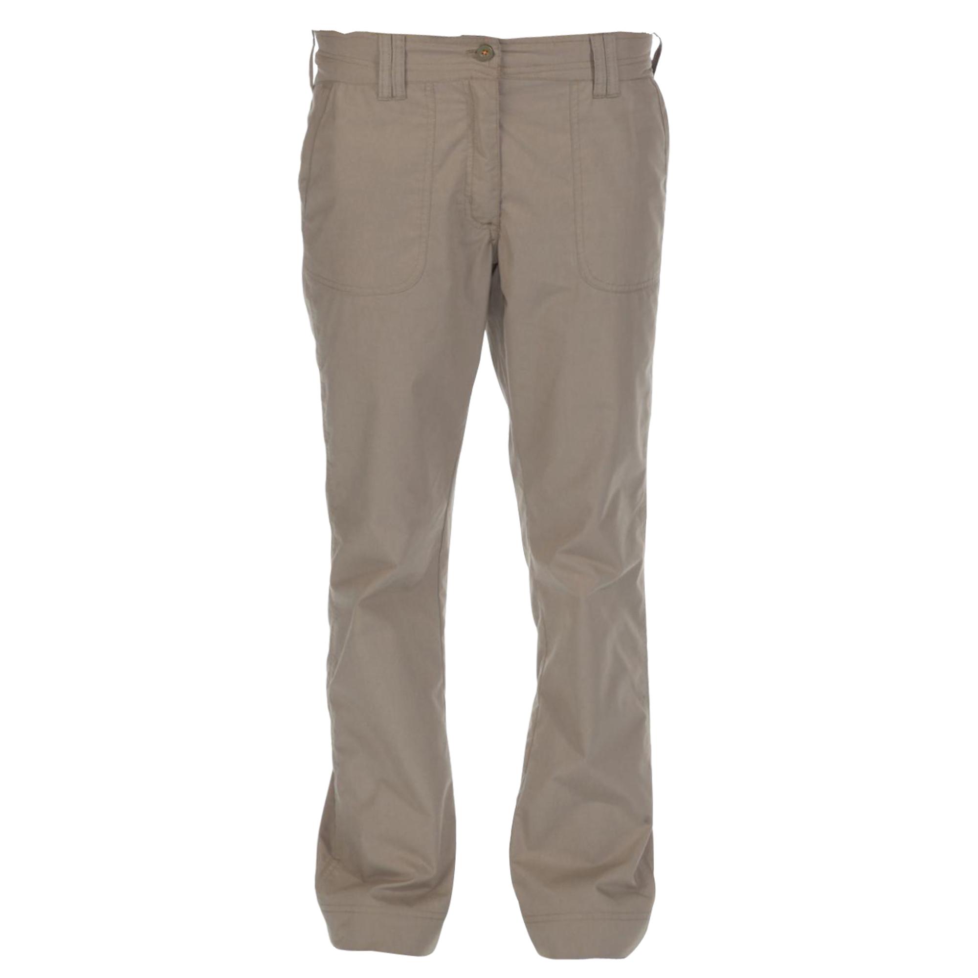 Regatta Great Outdoors Womens/Ladies Delph Showerproof Trousers (8L) (Parchment)