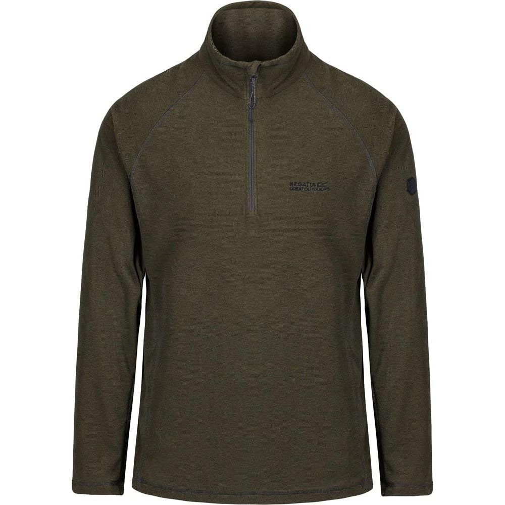 Regatta-Great-Outdoors-Mens-Montes-Half-Zip-Fleece-Jacket-RG1898