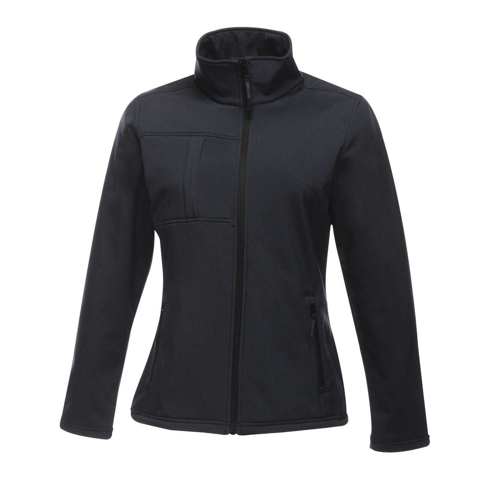 Regatta Professional Womens/Ladies Octagon II Waterproof Softshell Jacket (10) (Navy/Seal Grey)