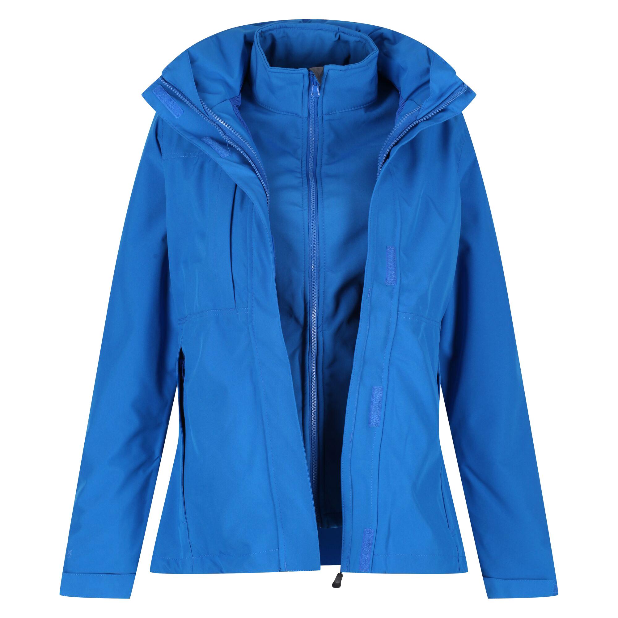Regatta Professional Womens/Ladies Kingsley 3-in-1 Waterproof Jacket (16) (Oxford Blue)