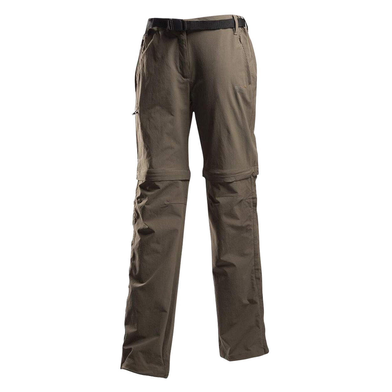 Regatta Great Outdoors Womens/Ladies Xert II Quick Drying Convertible Walking Trousers (30L) (Roasted)