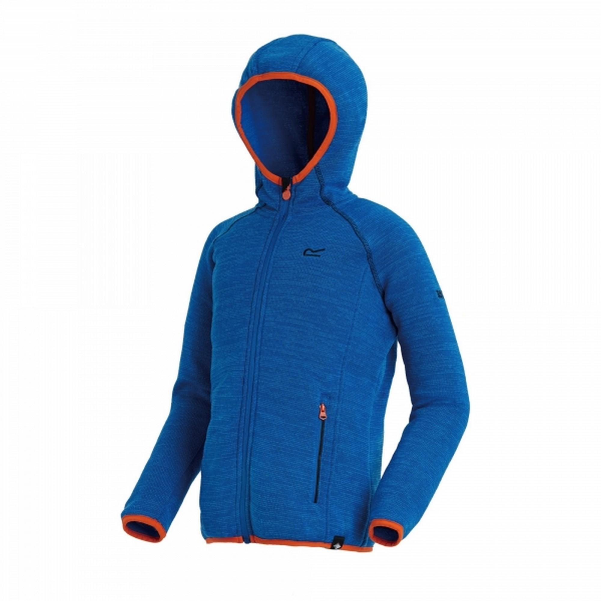 cf13b516c Regatta Great Outdoors Childrens  Kids Upflow Hooded Fleece Jacket ...