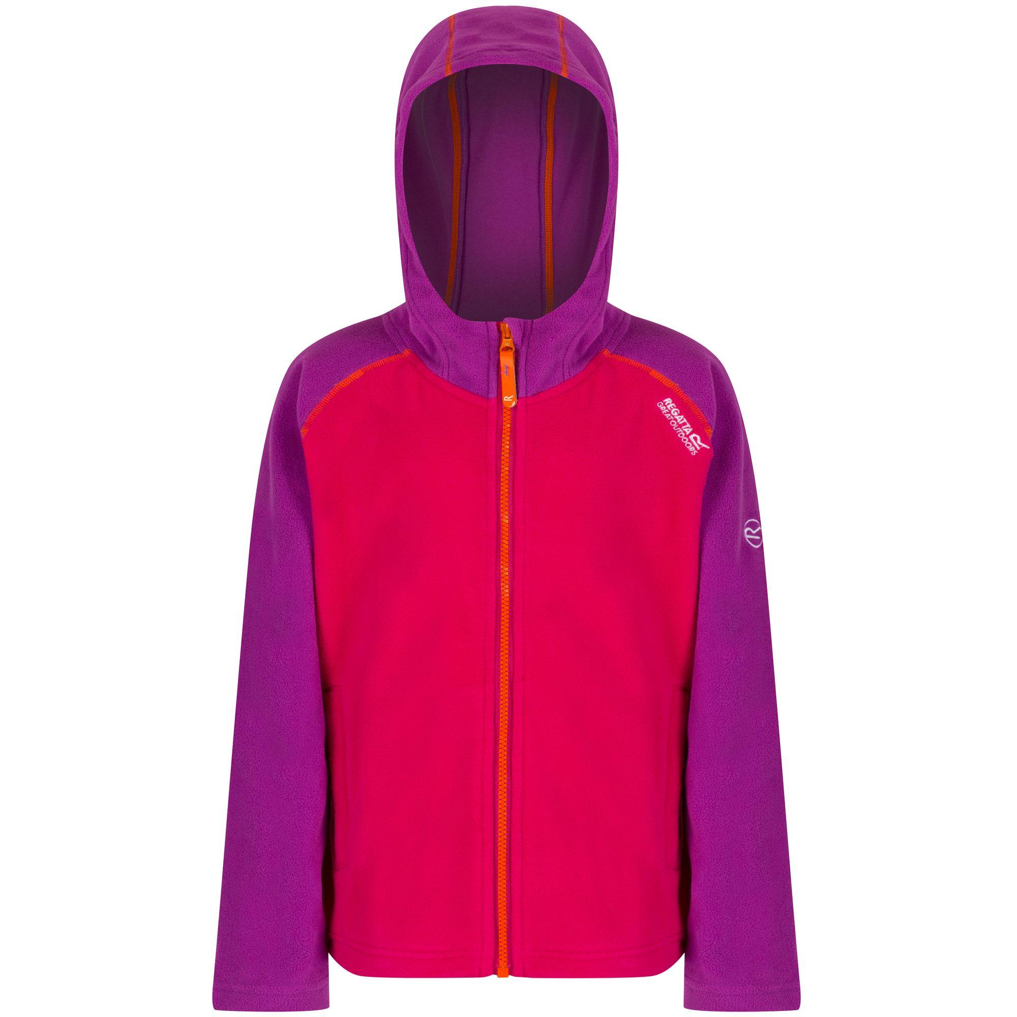 922ebf1f6 Regatta Great Outdoors Childrens boys Upflow Hooded Fleece Jacket 9 ...