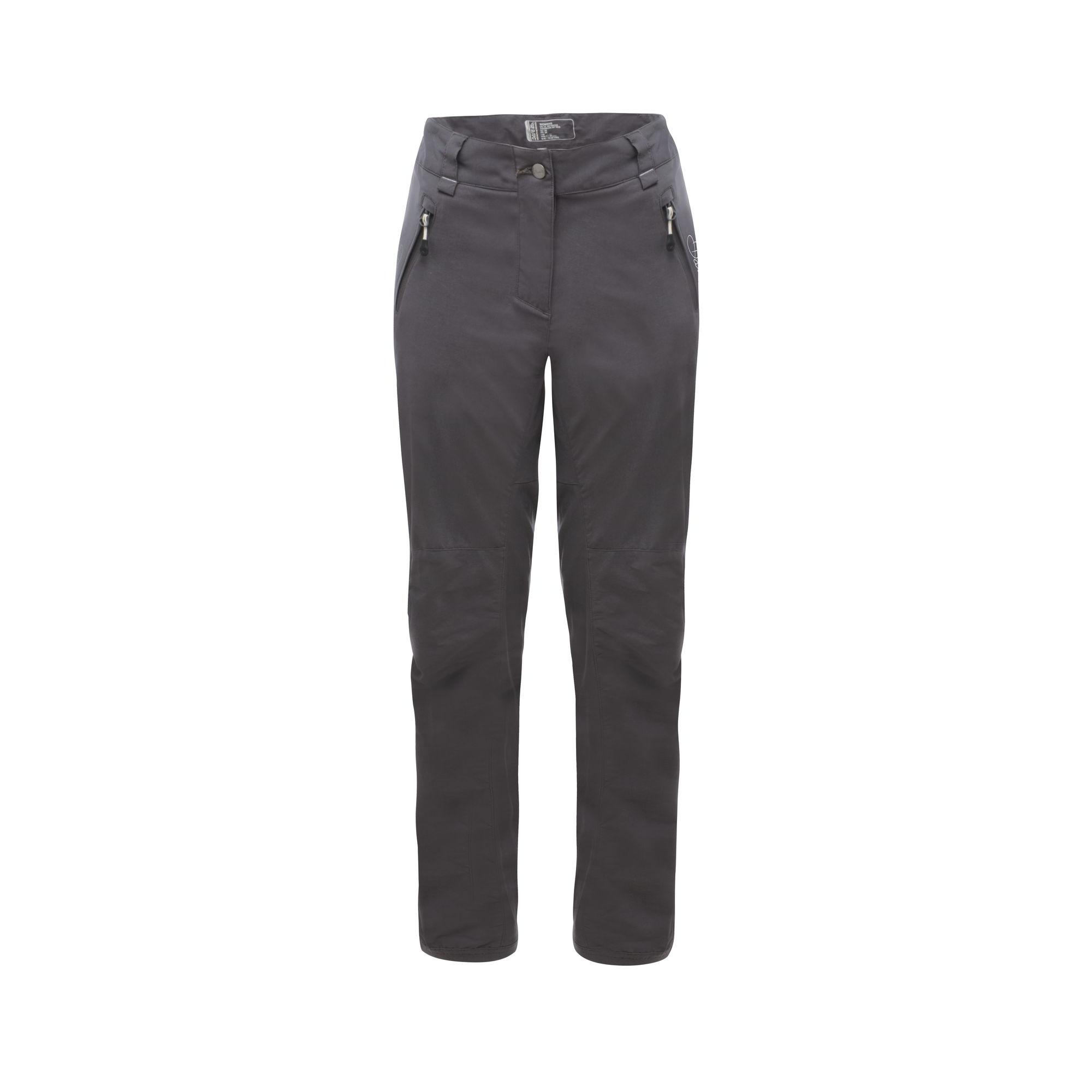 Dare 2B Womens/Ladies Melodic Hiking Trousers (20R) (Ebony Grey)