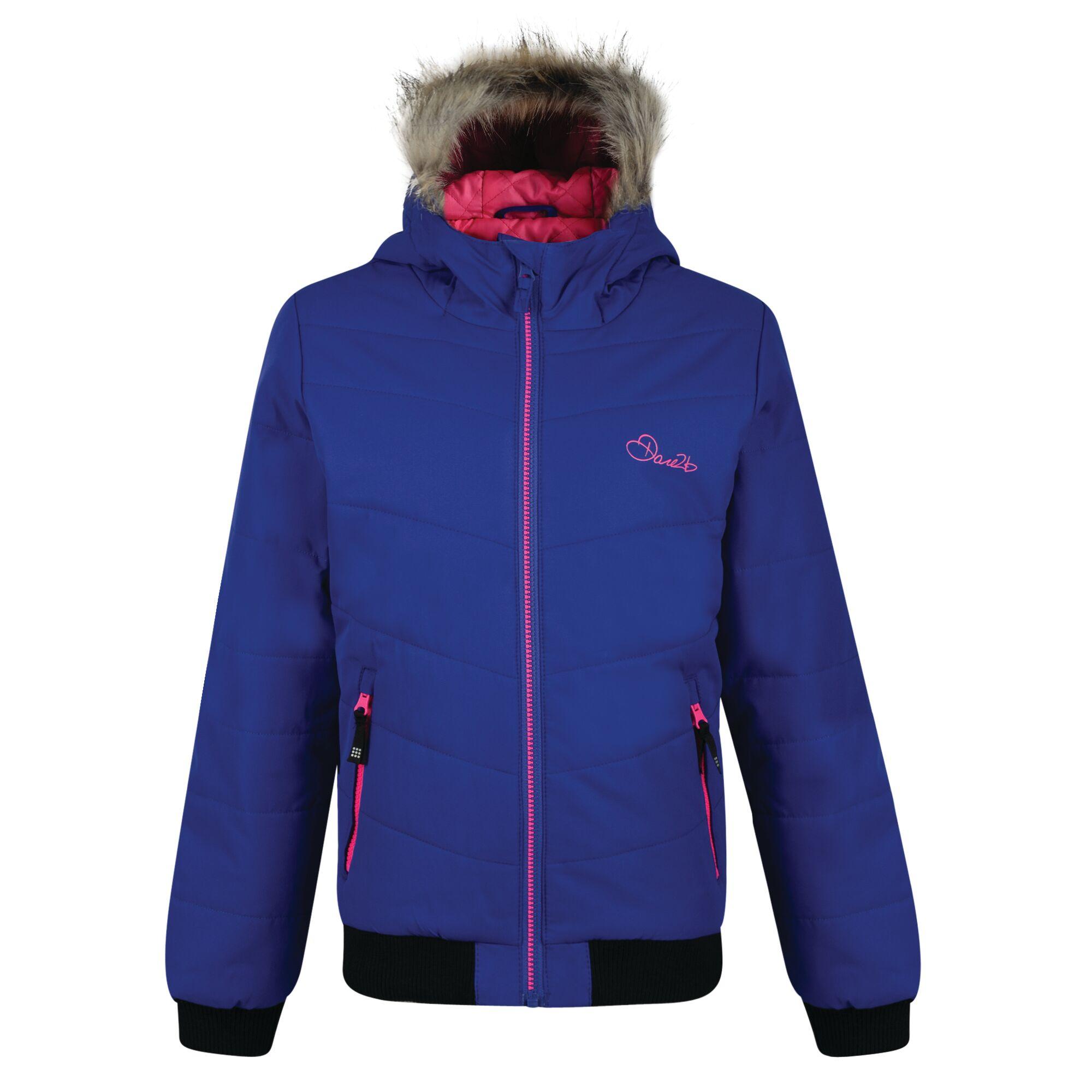 Dare 2b Childrens Girls Precocious Waterproof Insulated Jacket (9-10 UK) (Clematis)