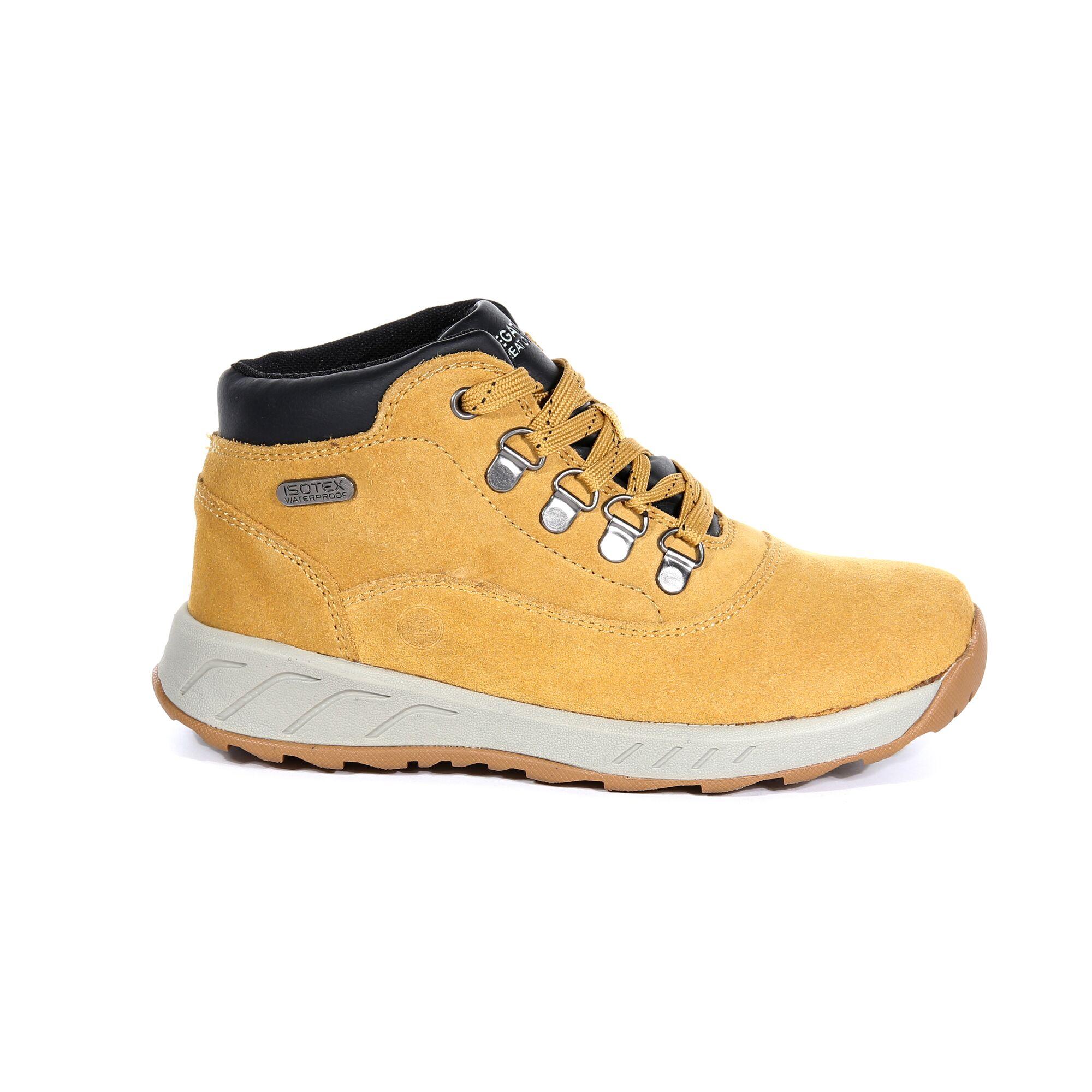 Regatta-Childrens-Kids-Grimshaw-Suede-Walking-Boots-RG3053 thumbnail 8