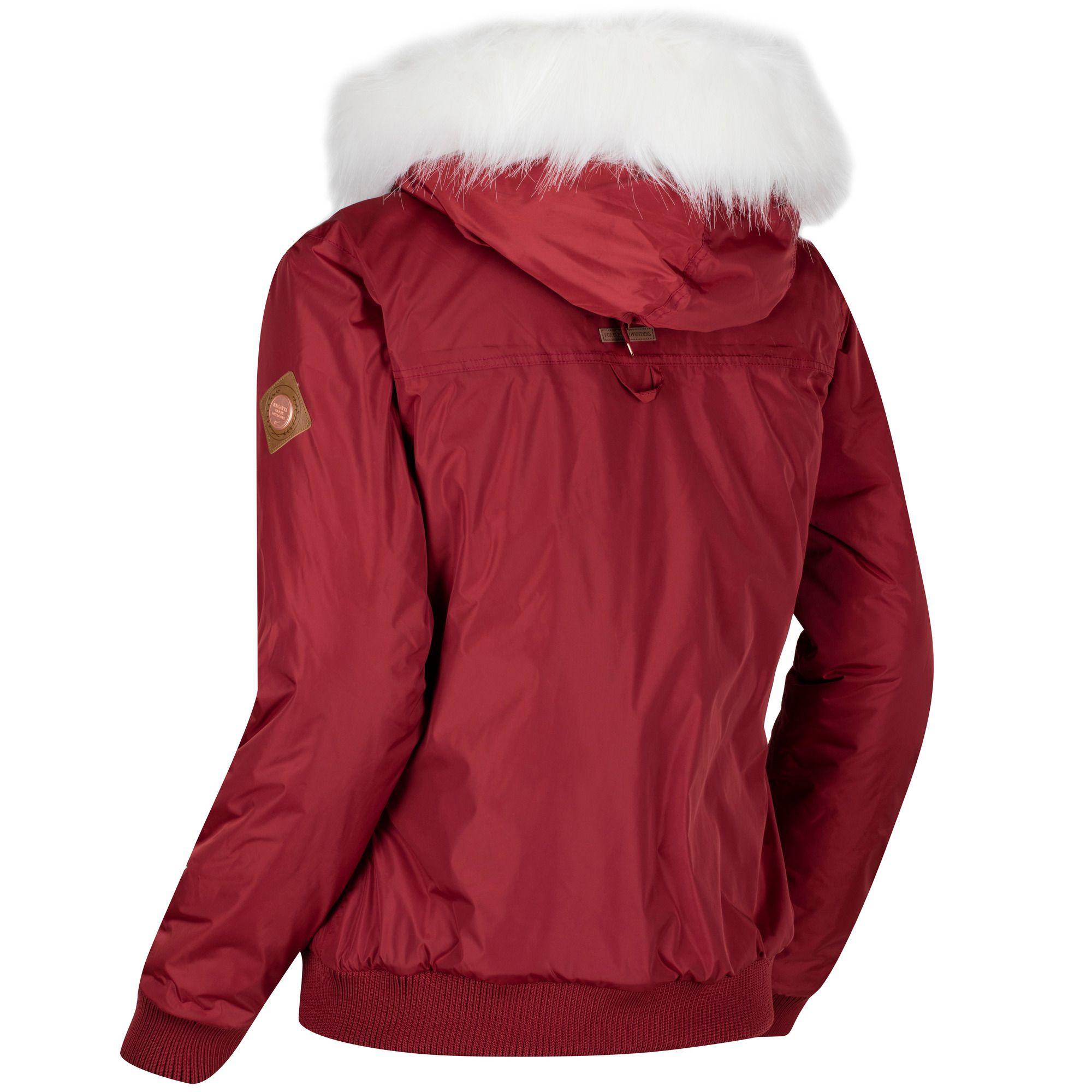 Regatta-Womens-Ladies-Berdine-Bomber-Jacket-RG3110 thumbnail 7