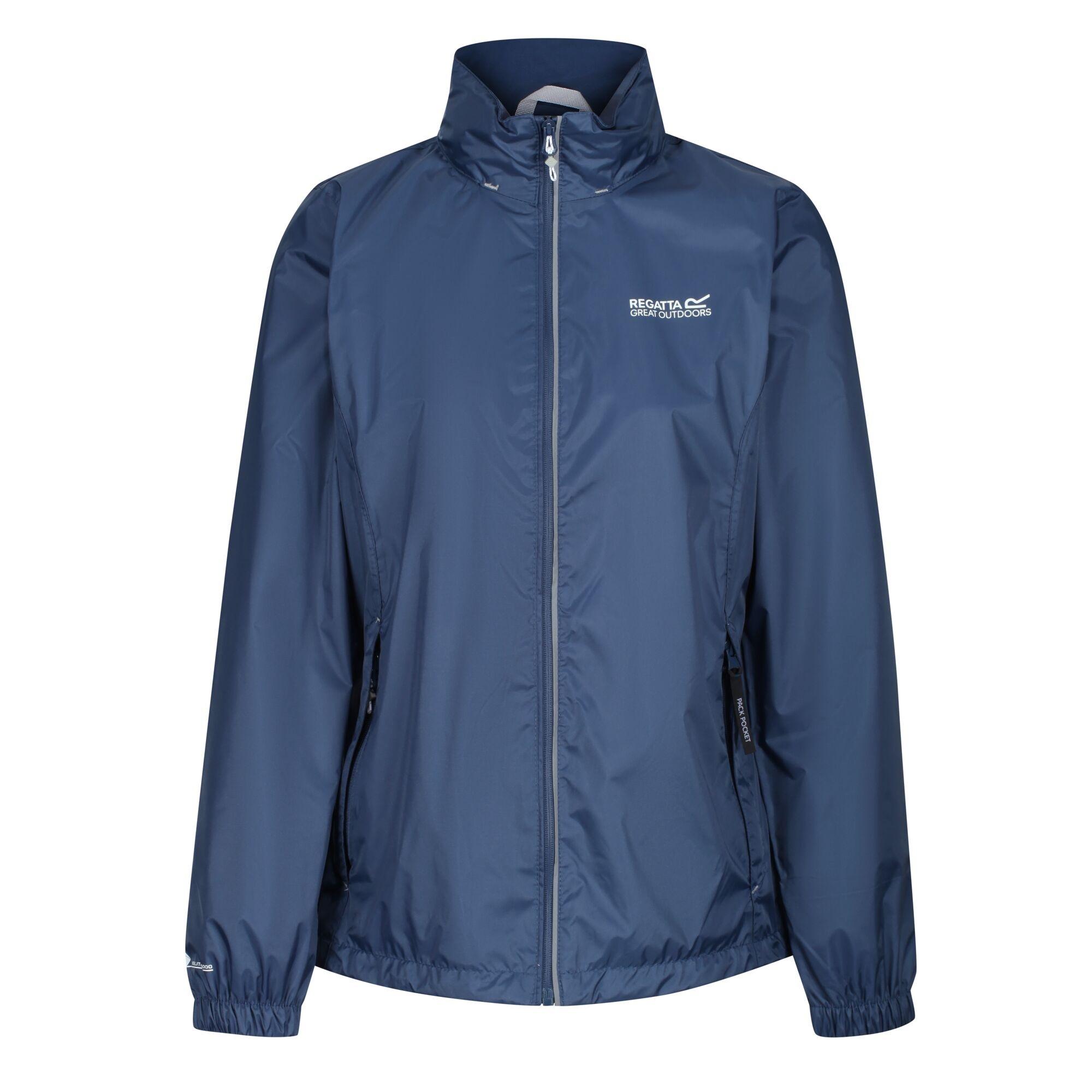 Regatta Womens/Ladies Corinne IV Waterproof Jacket (12 UK) (Dark Denim)