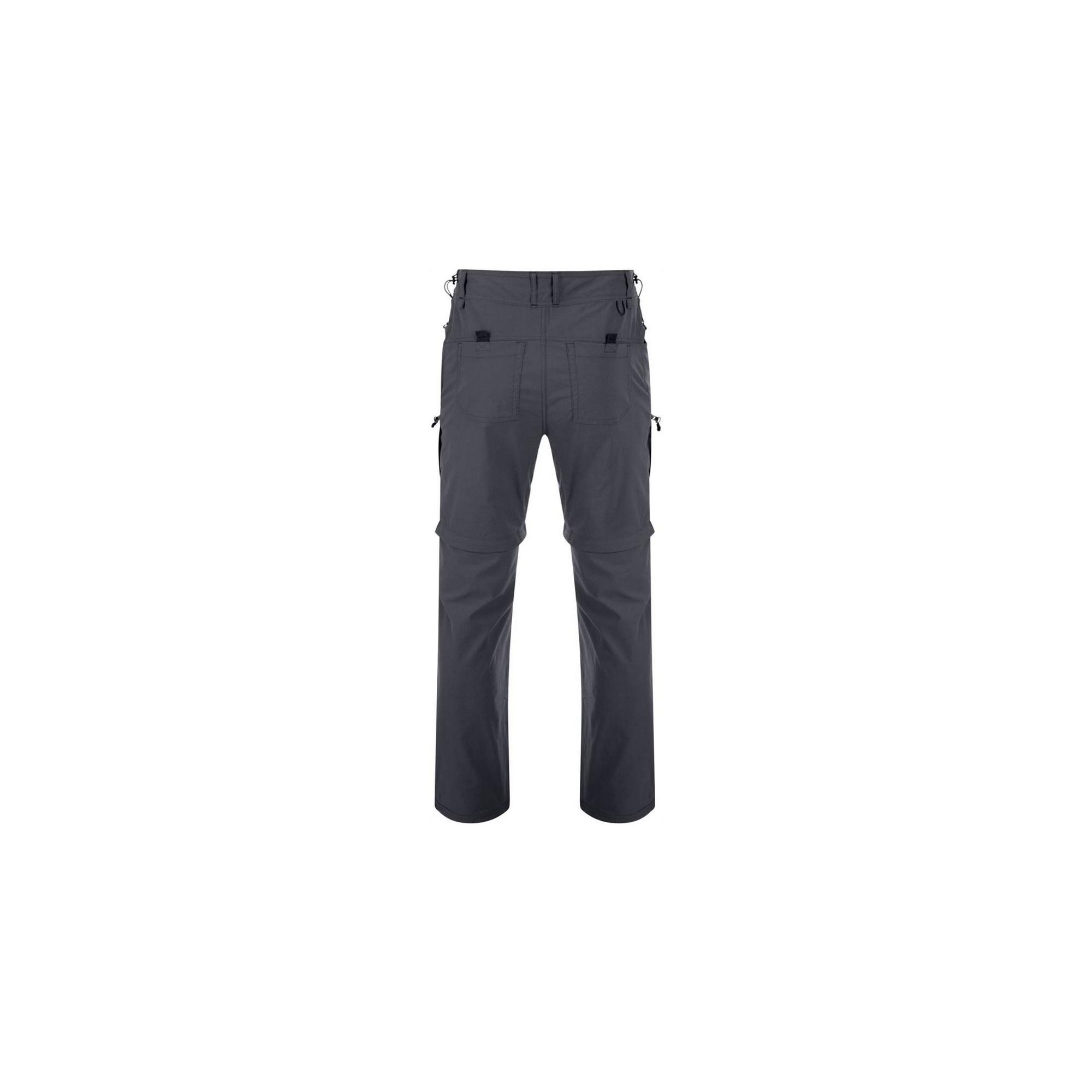 Dare2B Mens Tuned In Zip Off Trousers (42R) (Black)