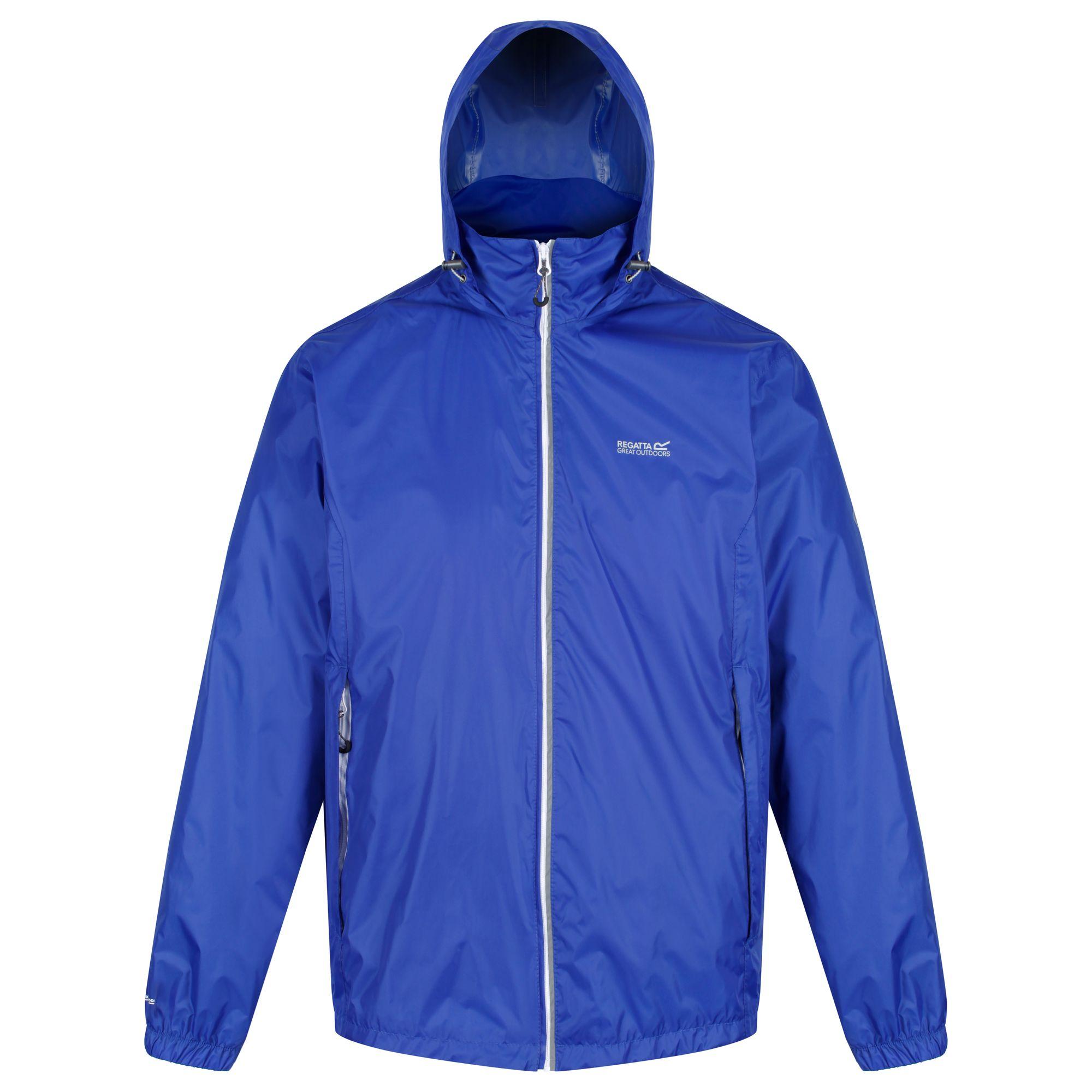 Regatta Mens Lyle IV Waterproof Hooded Jacket (L) (Black)