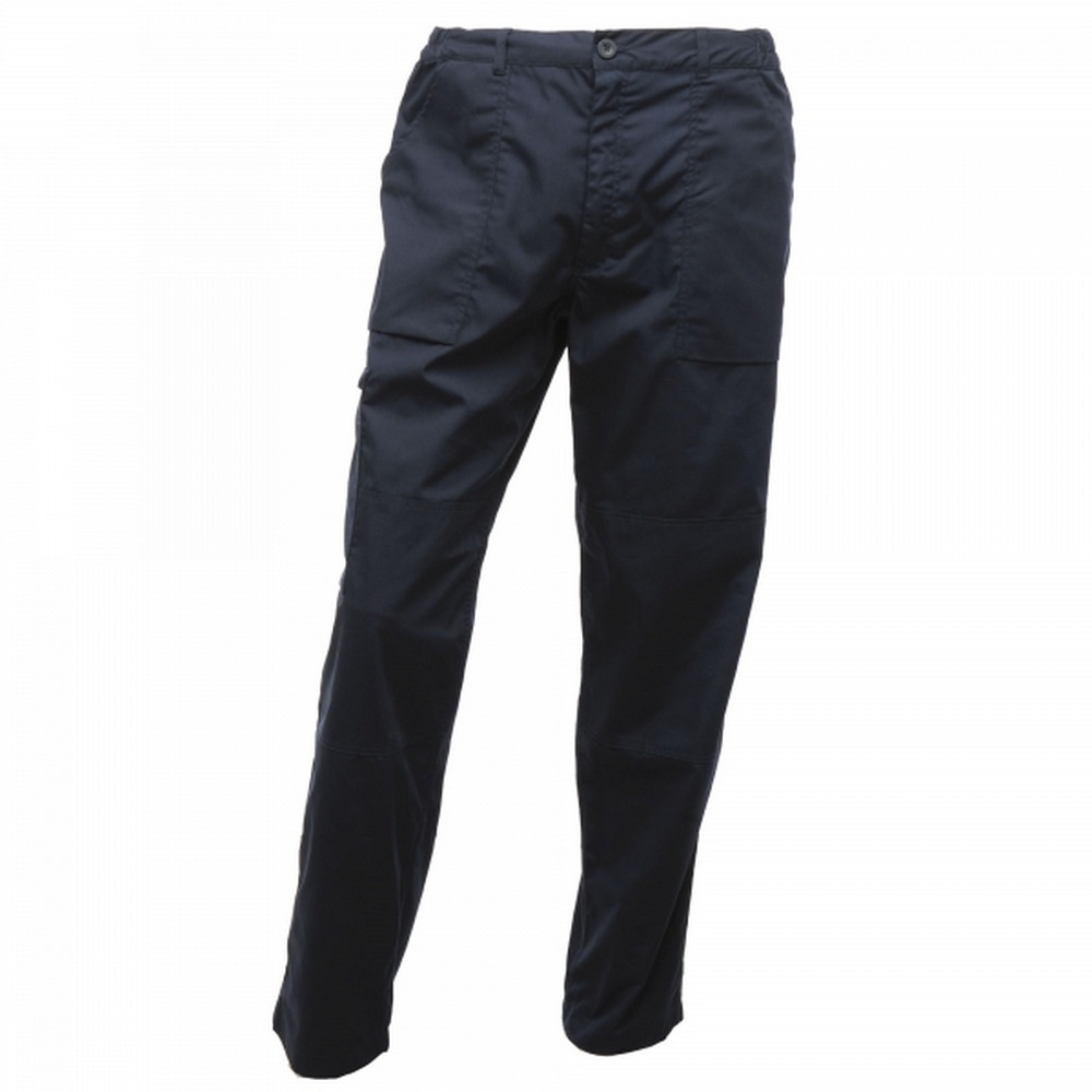 Regatta Mens Action Waterproof Trousers (28L) (Navy)