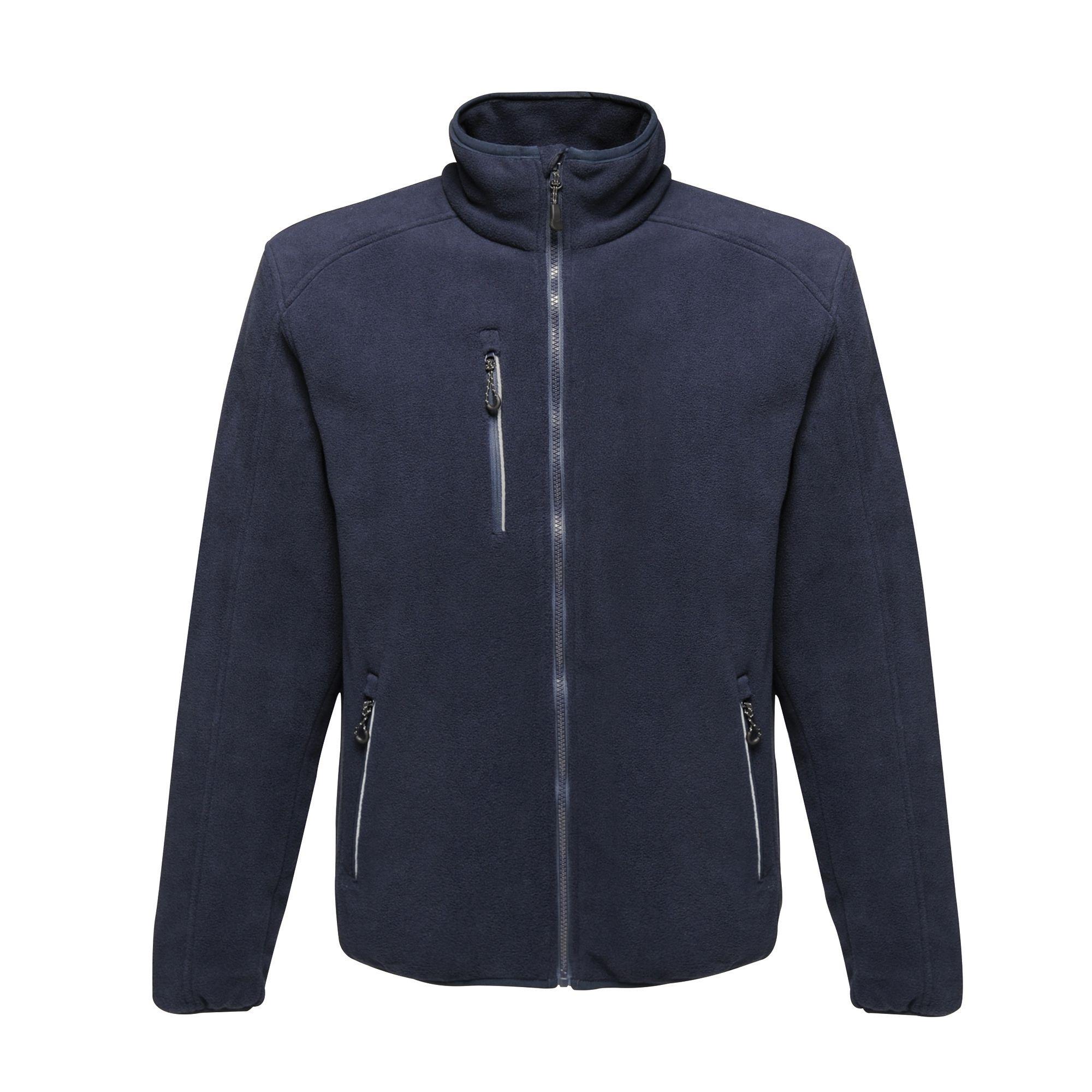 Regatta Mens Omicron III Waterproof Fleece Jacket (XXL) (Black)