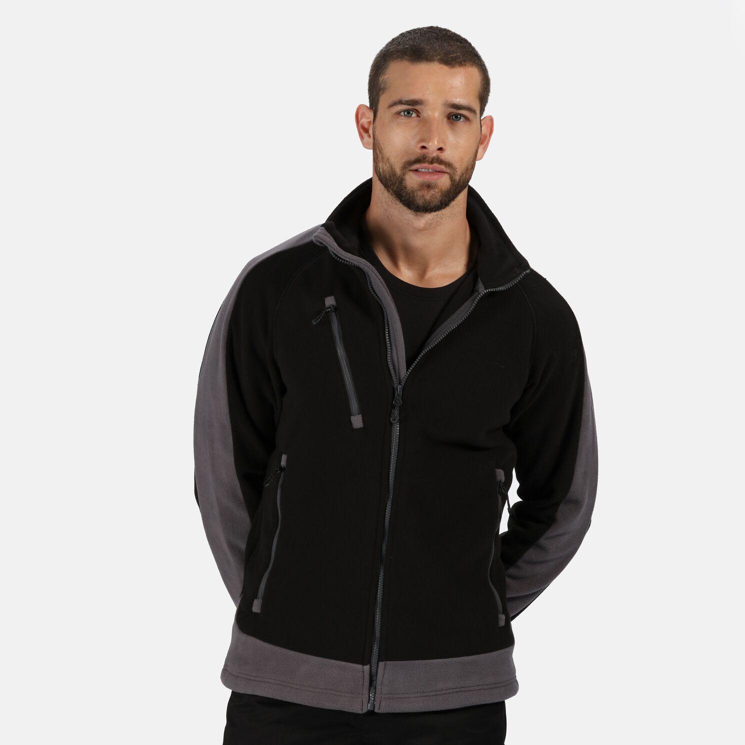 Regatta Mens Contrast Fleece Jacket (XS) (New Royal/Navy)