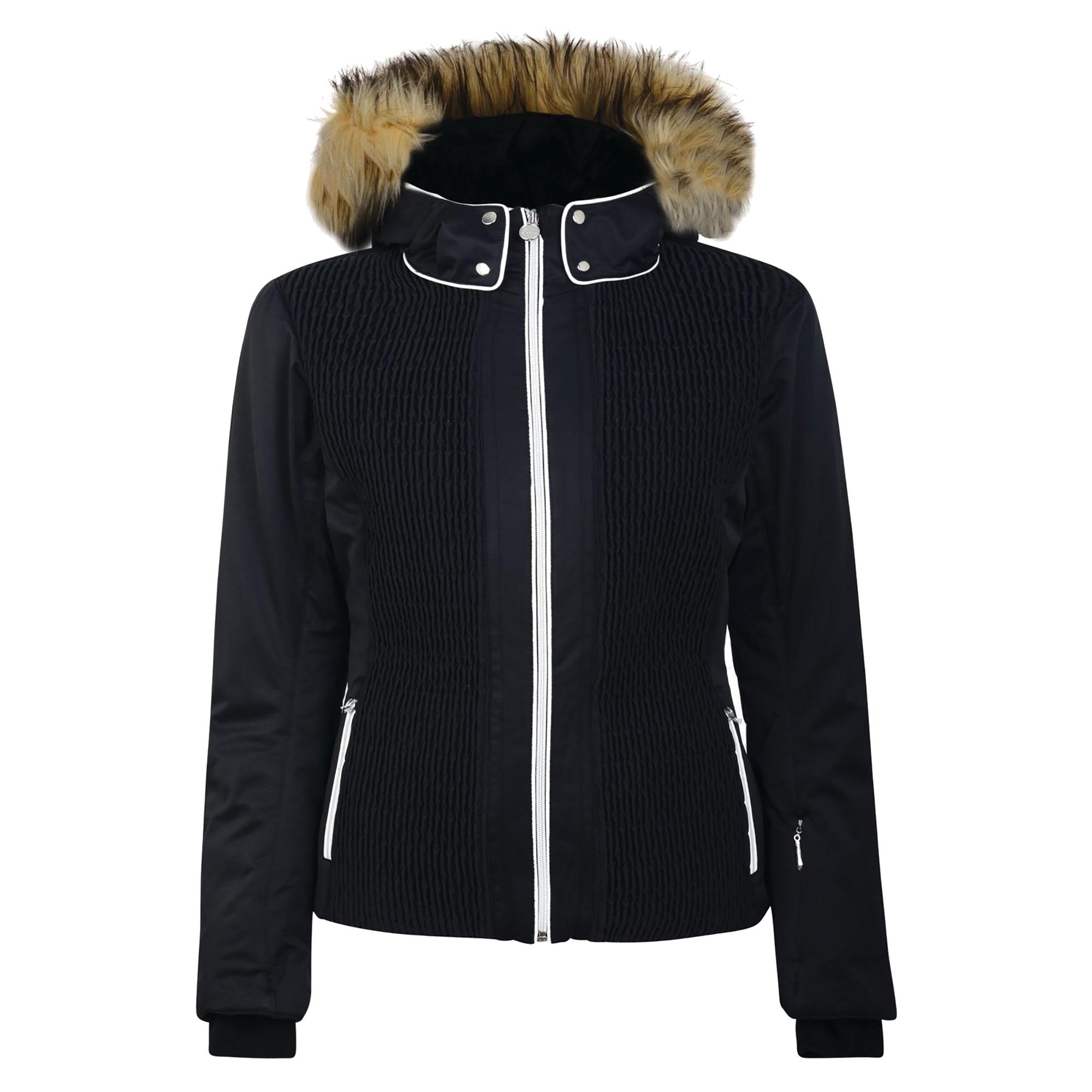 Dare2B Womens/Ladies Statement Jacket (UK Size 12) (Jet Black)