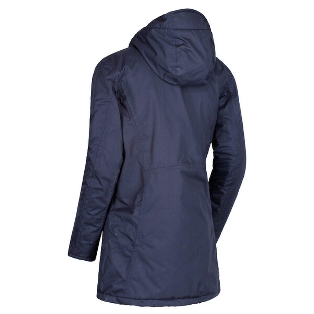 Regatta Womens/Ladies Largo Hooded Jacket (UK Size 12) (Navy)