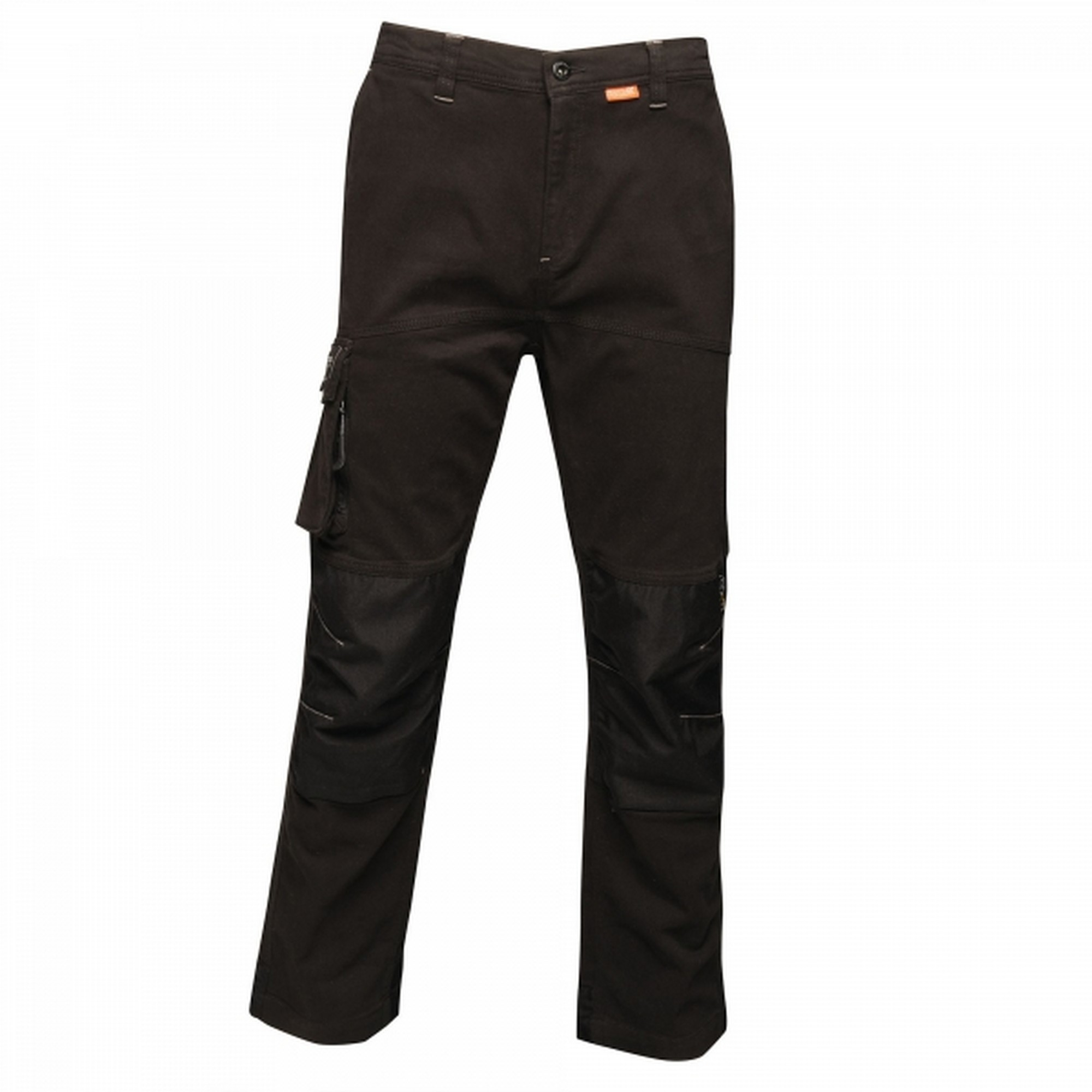 Regatta Mens Scandal Stretch Work Trousers - Regular (36in) (Traffic Black)