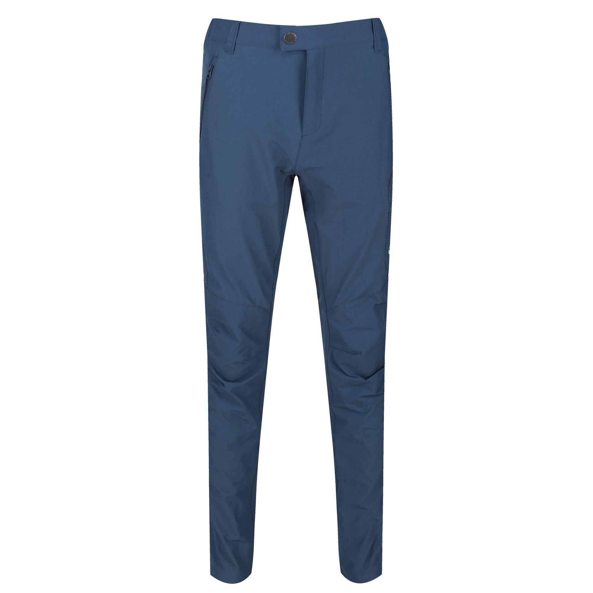 Regatta Mens Highton Hiking Trousers (34S) (Dark Denim)
