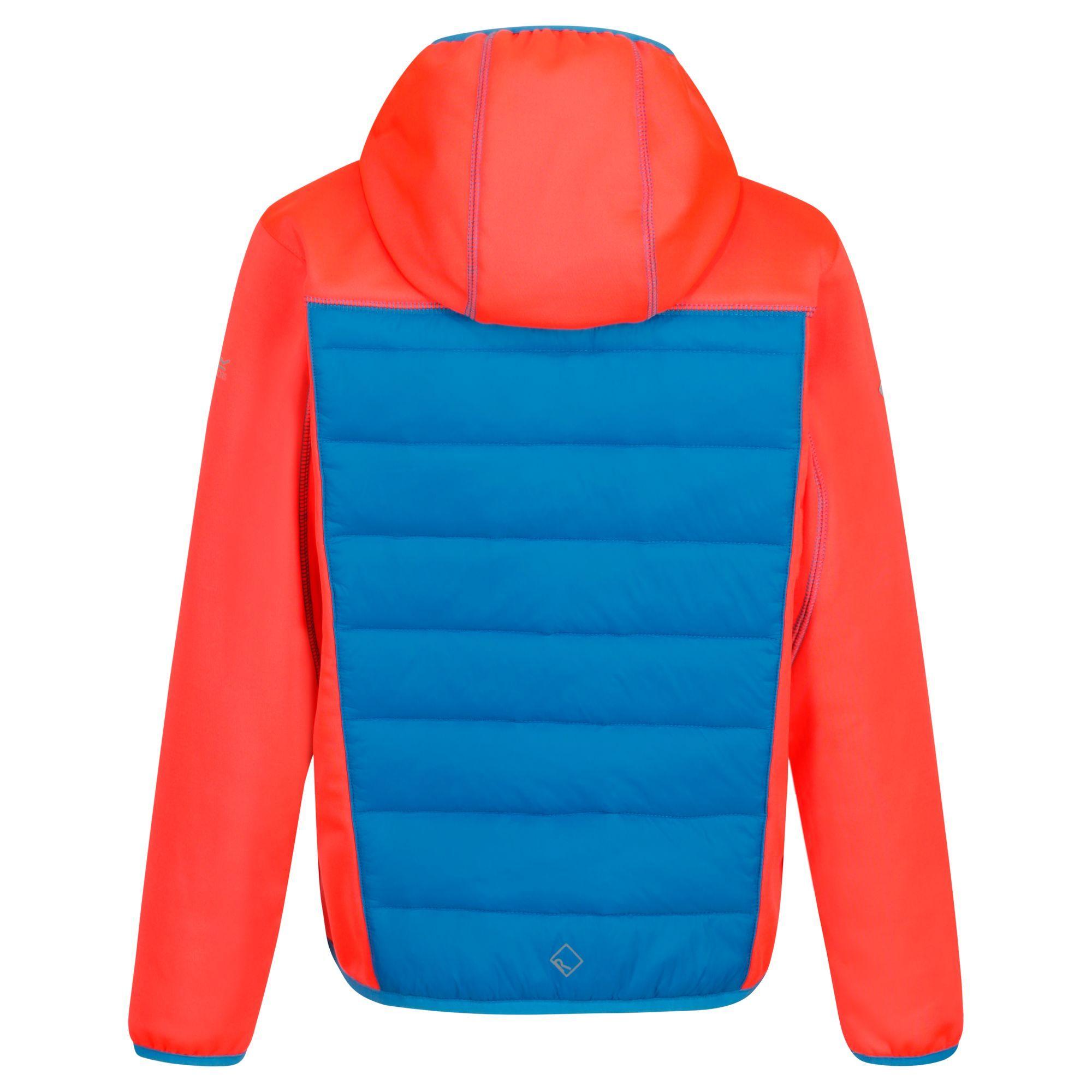 Regatta Kids Kielder Hybrid III Full Zip Fleece