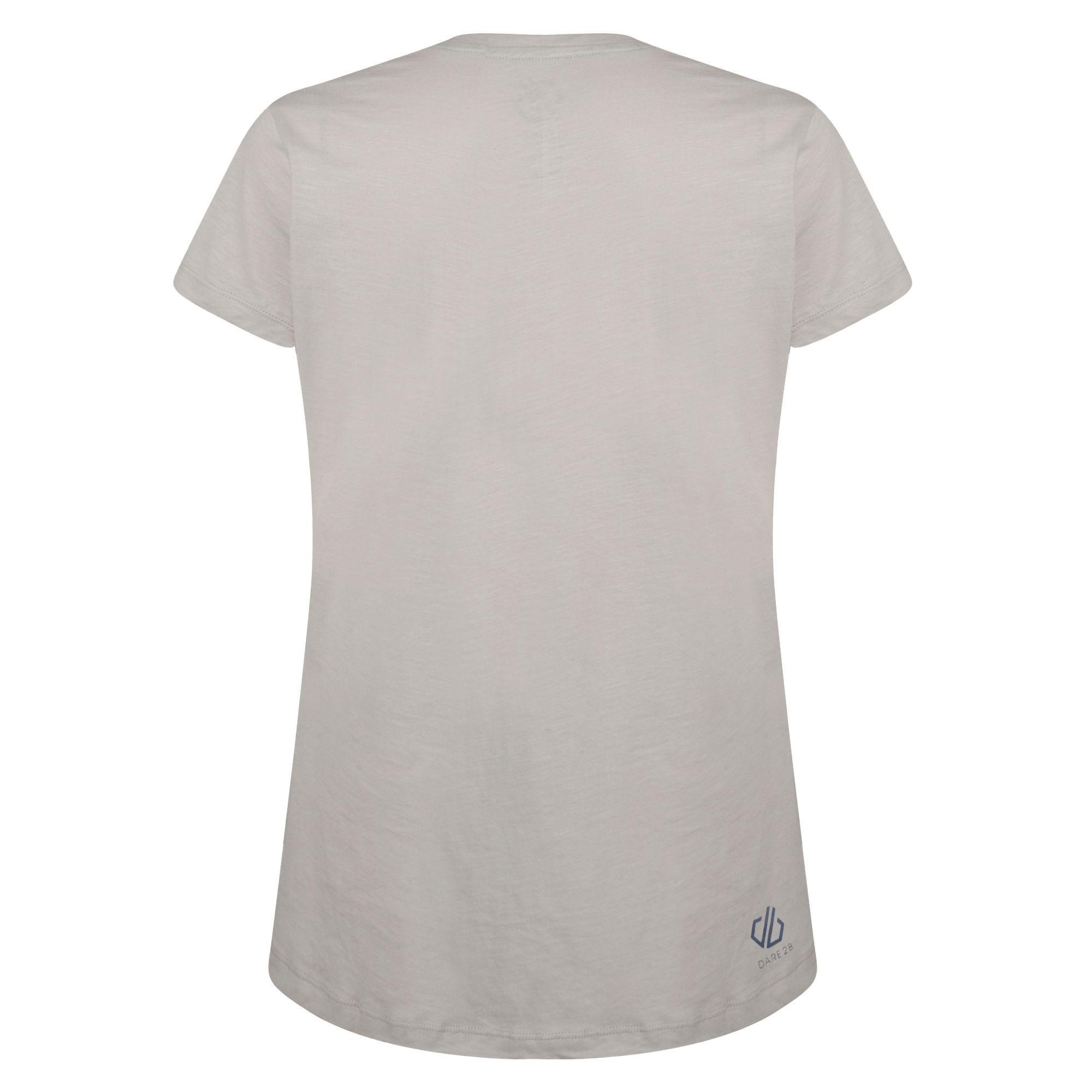 RG4151 Dare 2B Womens//Ladies Emote Graphic Print T-Shirt