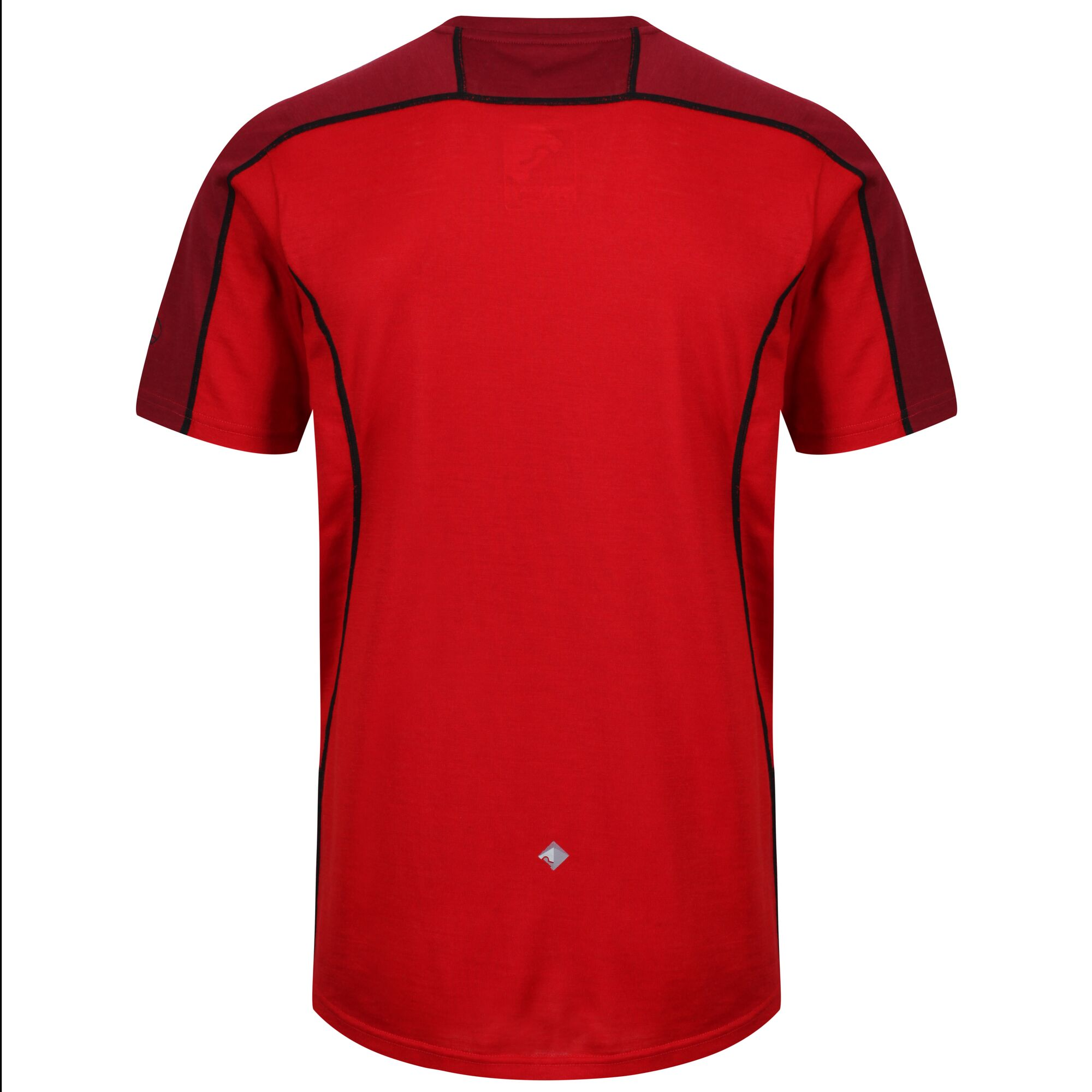 Regatta Mens Tornell Super Soft Merino Wool T-Shirt (S) (Classic Red/Delhi Red)