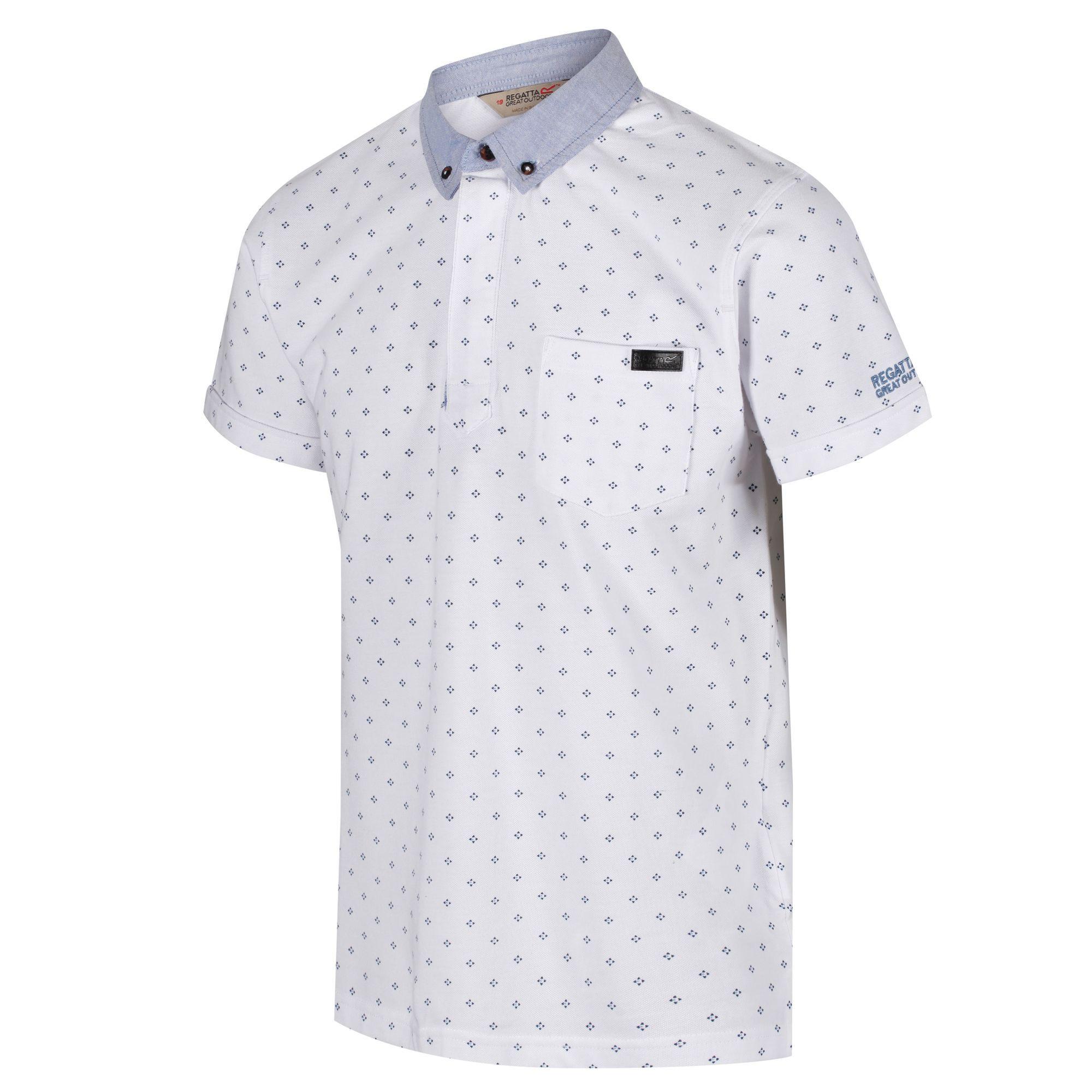 Regatta-Mens-Bahram-Polo-Shirt-RG4205 thumbnail 10