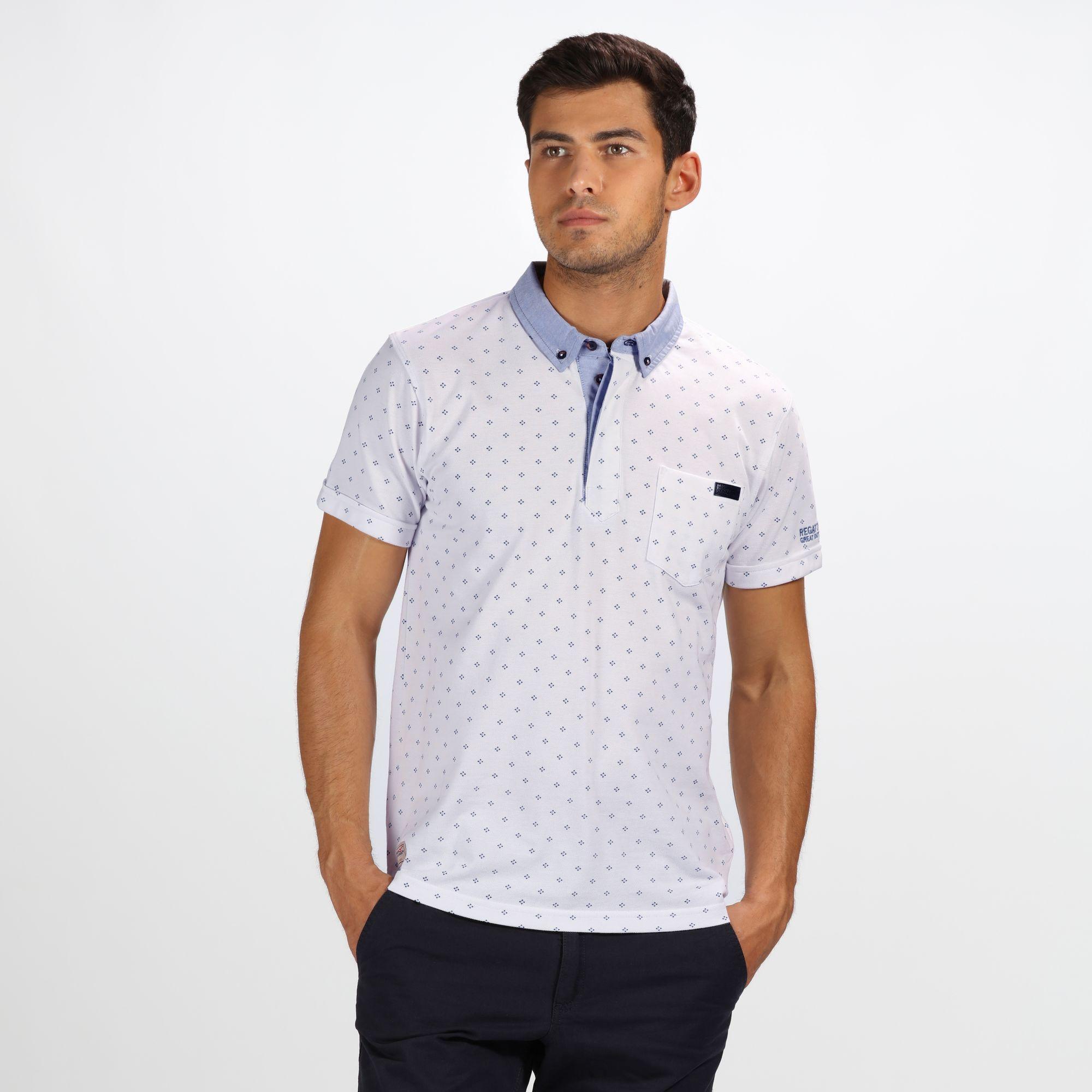 Regatta-Mens-Bahram-Polo-Shirt-RG4205 thumbnail 11