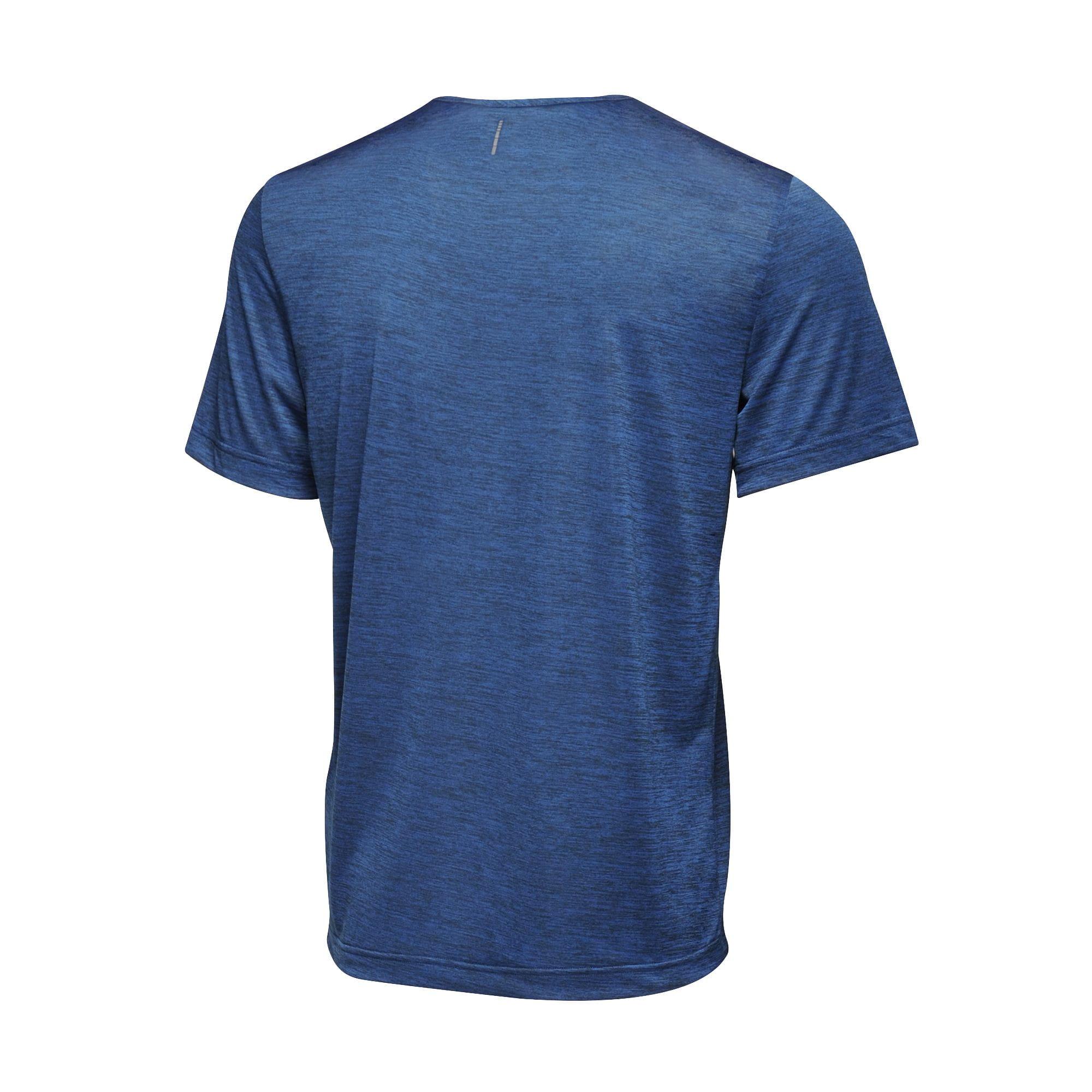 Regatta Mens Antwerp Short Sleeve Marl T-Shirt (L) (Black)