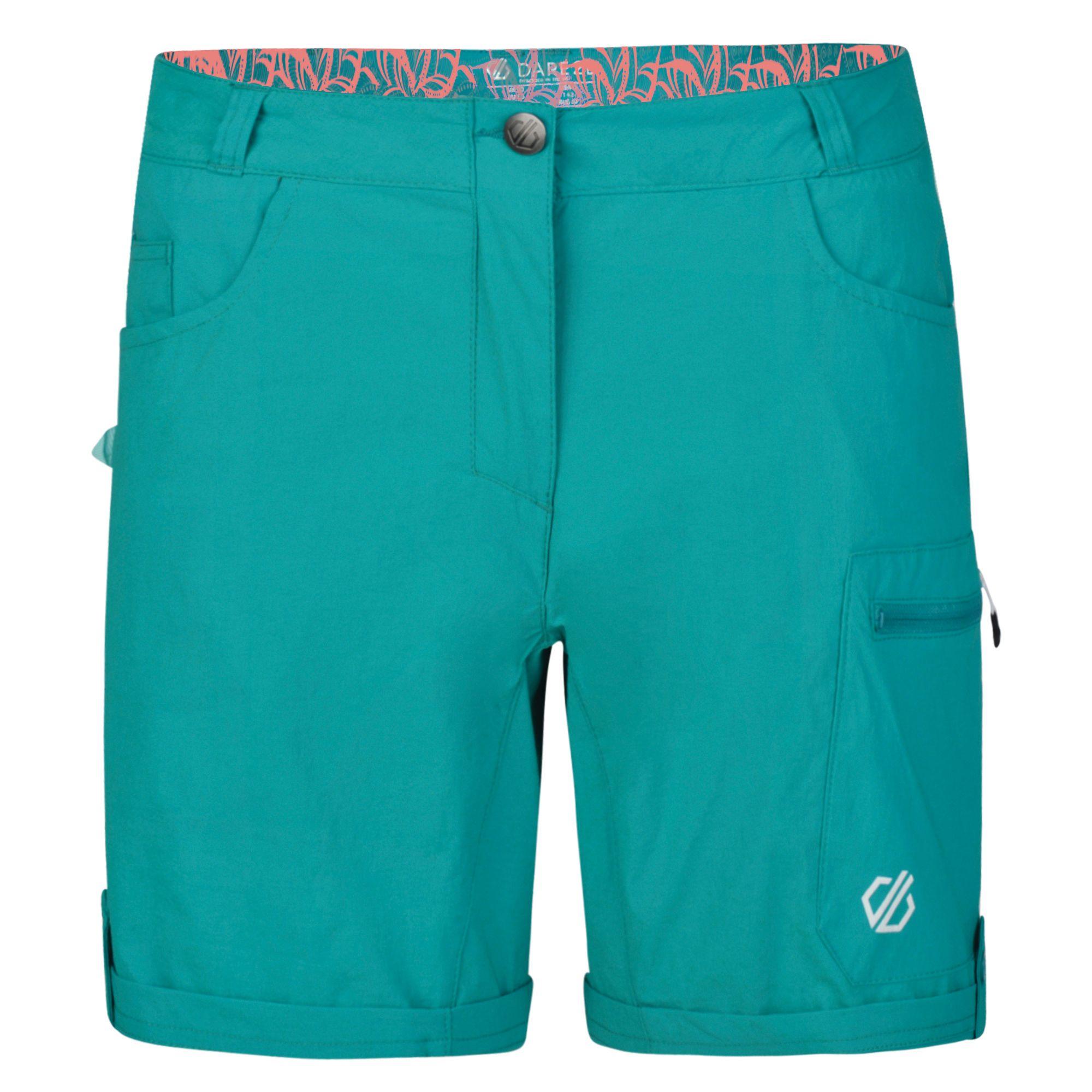 Dare2b Womens/Ladies Melodic II Multi Pocket Walking Shorts (12 UK) (Argent Grey)