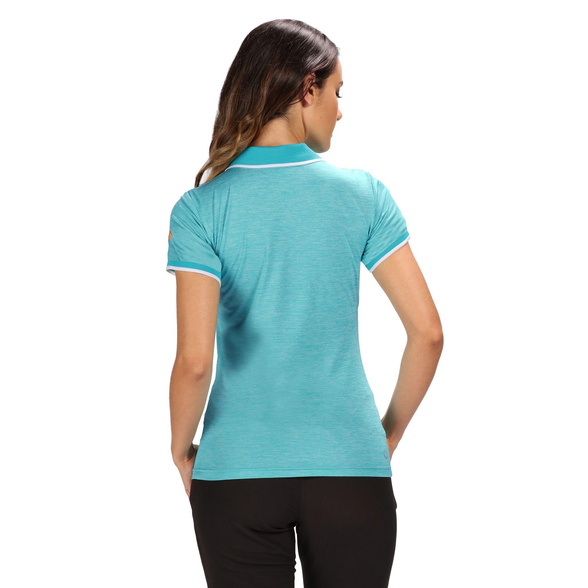 Regatta-Womens-Ladies-Remex-II-Polo-Neck-T-Shirt-RG4477 thumbnail 5
