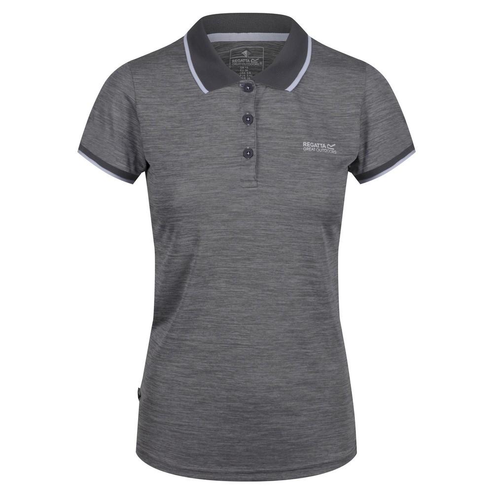 Regatta-Womens-Ladies-Remex-II-Polo-Neck-T-Shirt-RG4477 thumbnail 6