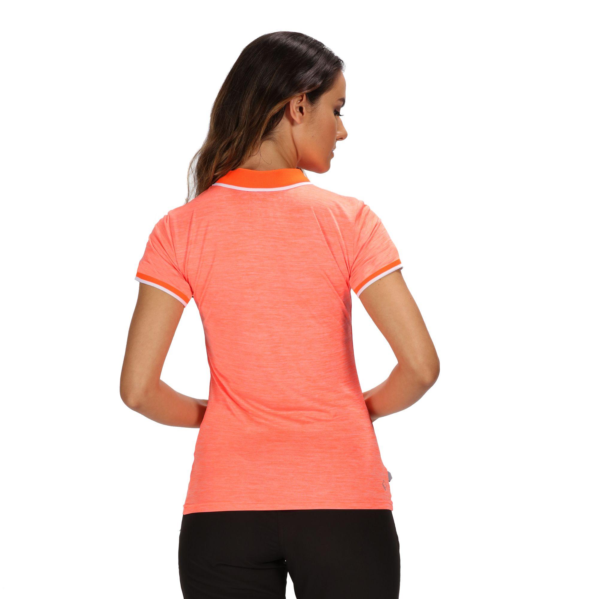 Regatta-Womens-Ladies-Remex-II-Polo-Neck-T-Shirt-RG4477 thumbnail 21