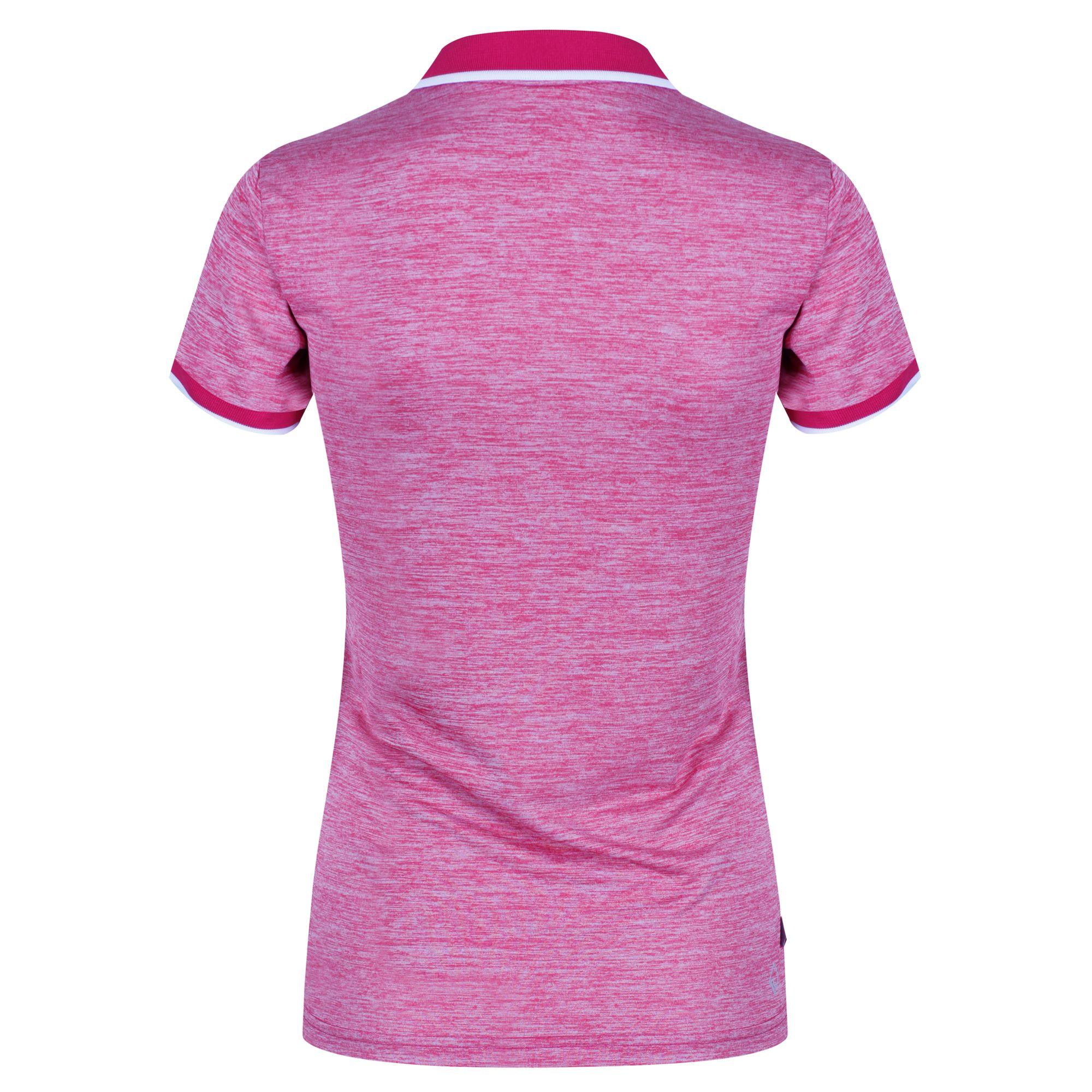 Regatta-Womens-Ladies-Remex-II-Polo-Neck-T-Shirt-RG4477 thumbnail 9