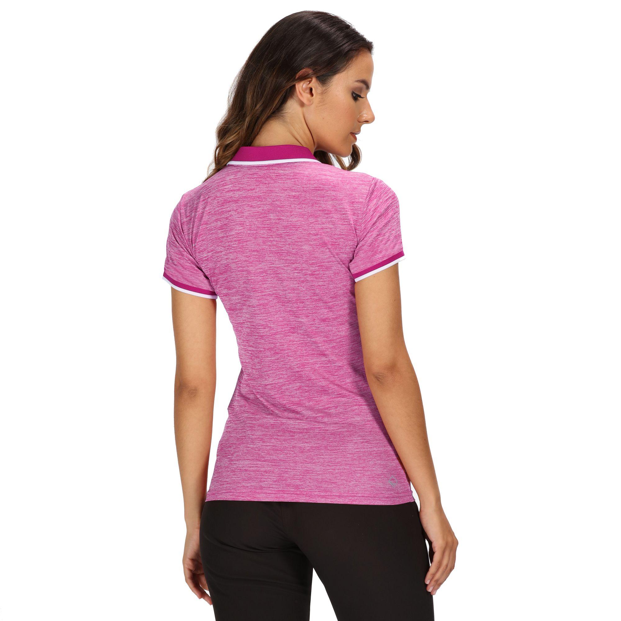 Regatta-Womens-Ladies-Remex-II-Polo-Neck-T-Shirt-RG4477 thumbnail 11