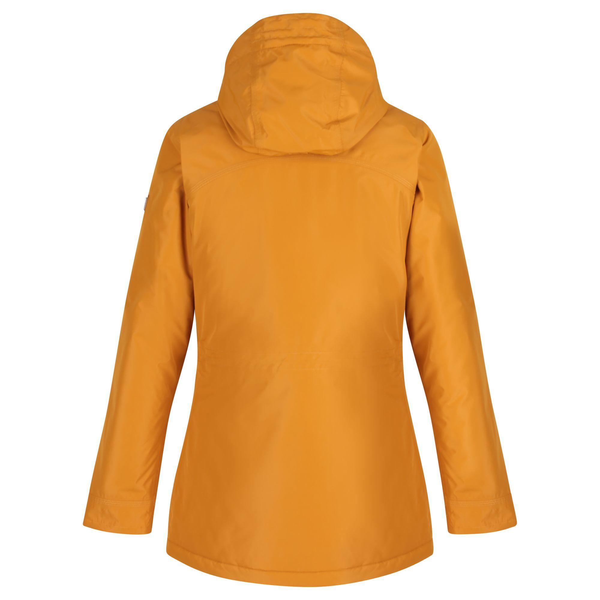 Regatta-Womens-Ladies-Braelynn-Long-Length-Waterproof-Jacket-RG4552 thumbnail 14