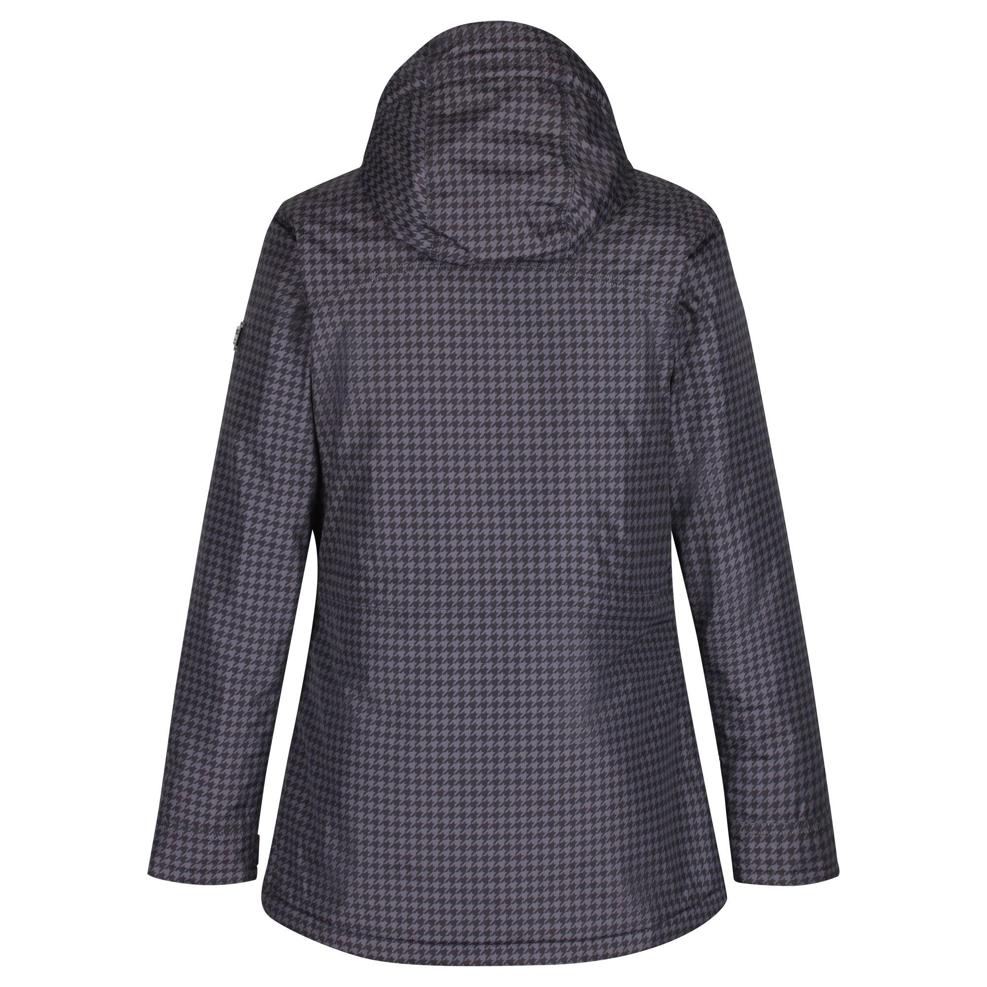 Regatta-Womens-Ladies-Braelynn-Long-Length-Waterproof-Jacket-RG4552 thumbnail 4