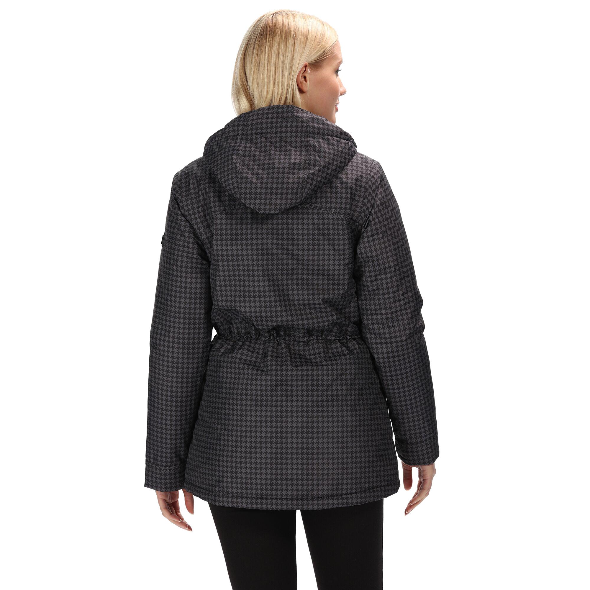 Regatta-Womens-Ladies-Braelynn-Long-Length-Waterproof-Jacket-RG4552 thumbnail 6