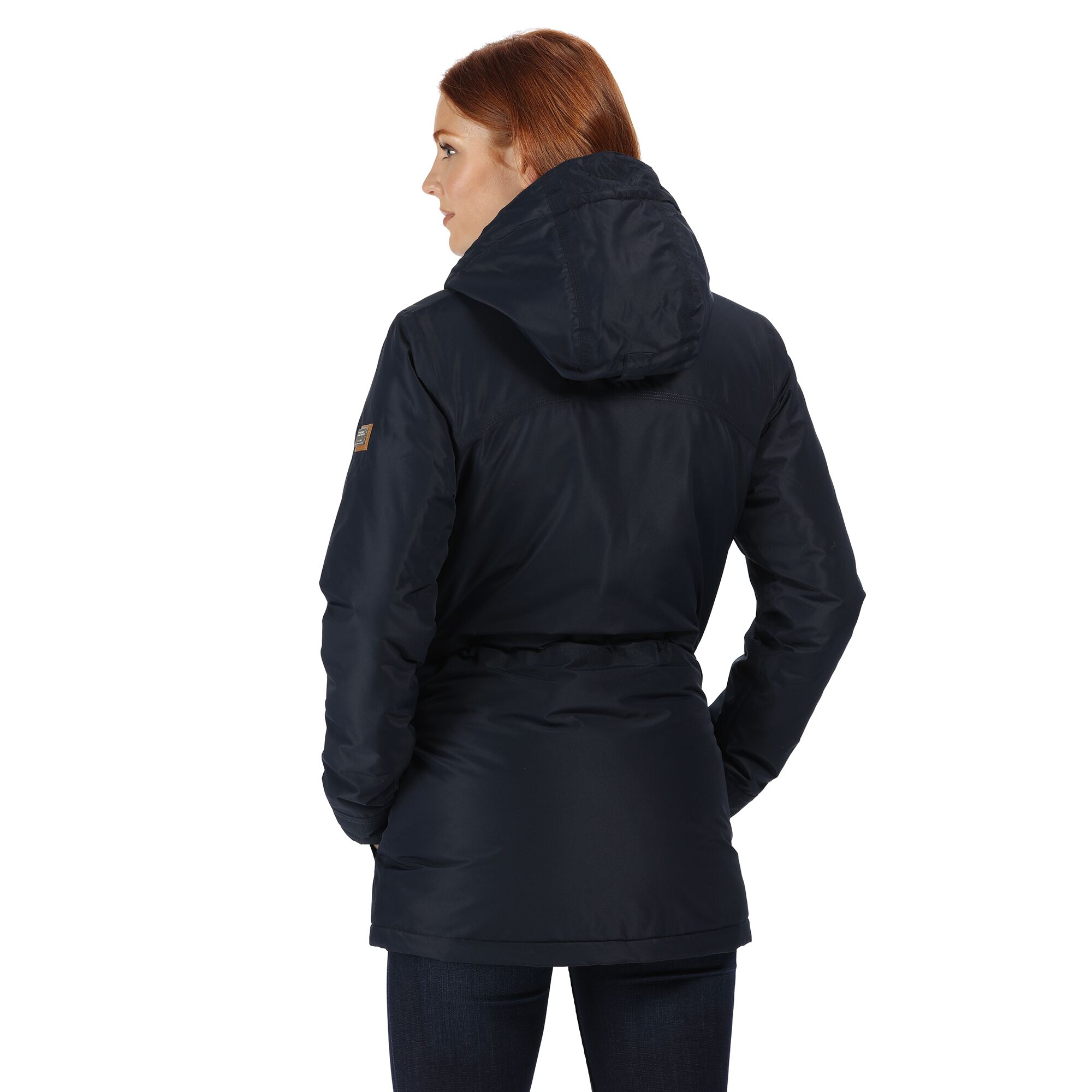 Regatta-Womens-Ladies-Braelynn-Long-Length-Waterproof-Jacket-RG4552 thumbnail 21