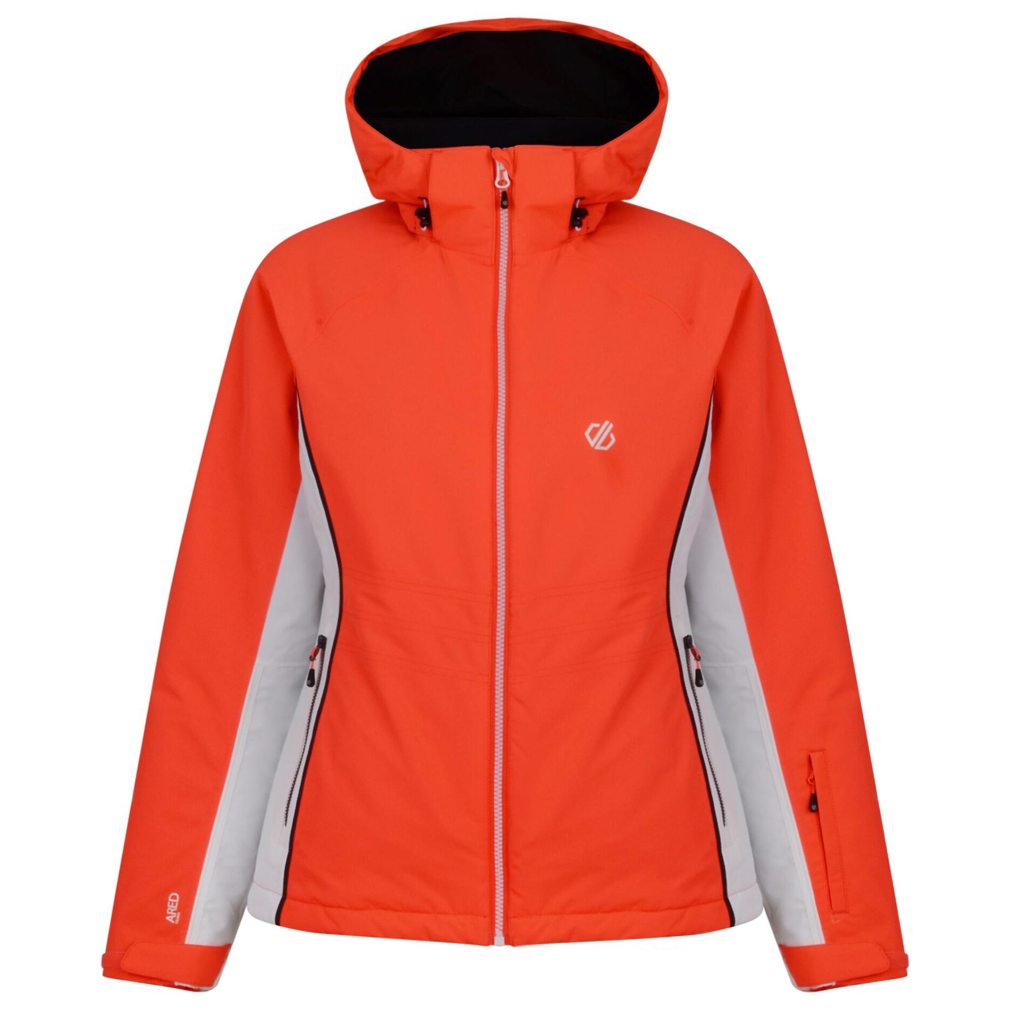 Dare 2b Womens/Ladies Thrive Ski Jacket (16 UK) (Fiery Coral)