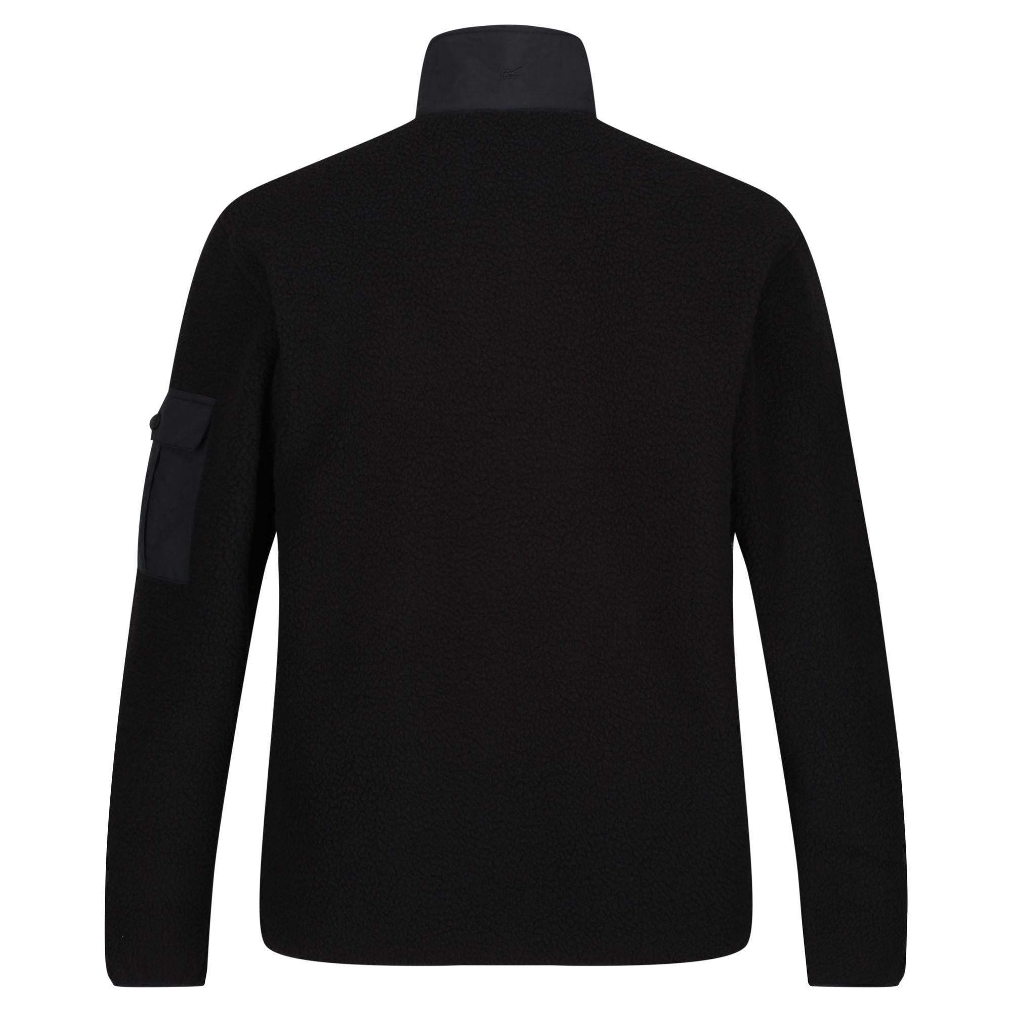 RG4600 Regatta Herren Fleece-Pullover Cormac mit Knopfleiste