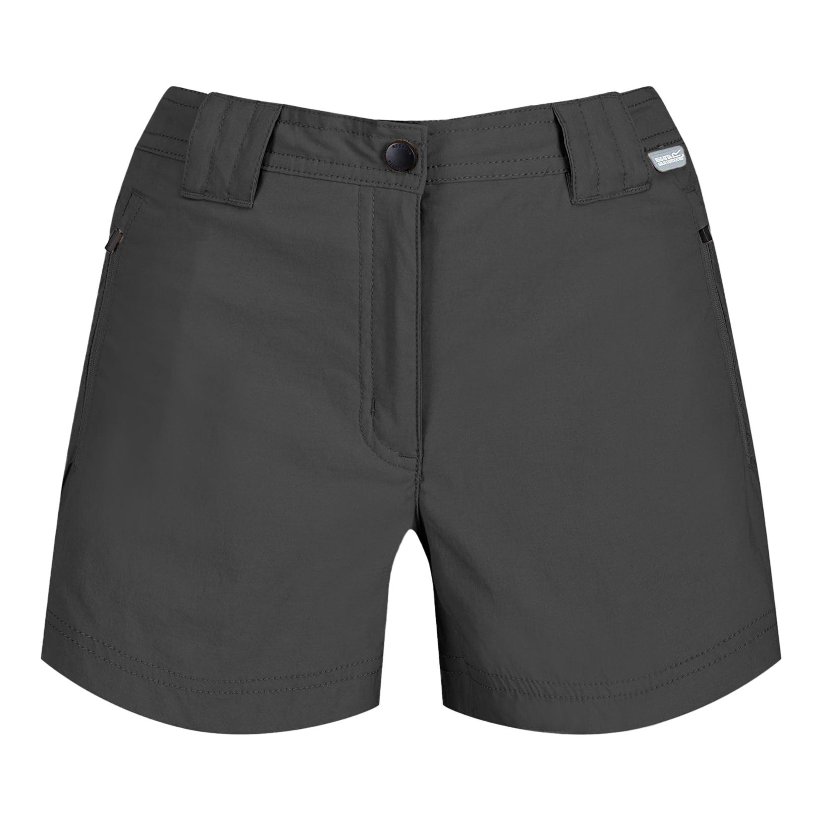 Regatta Womens/Ladies Highton Mid Walking Shorts (12 UK) (Seal Grey)
