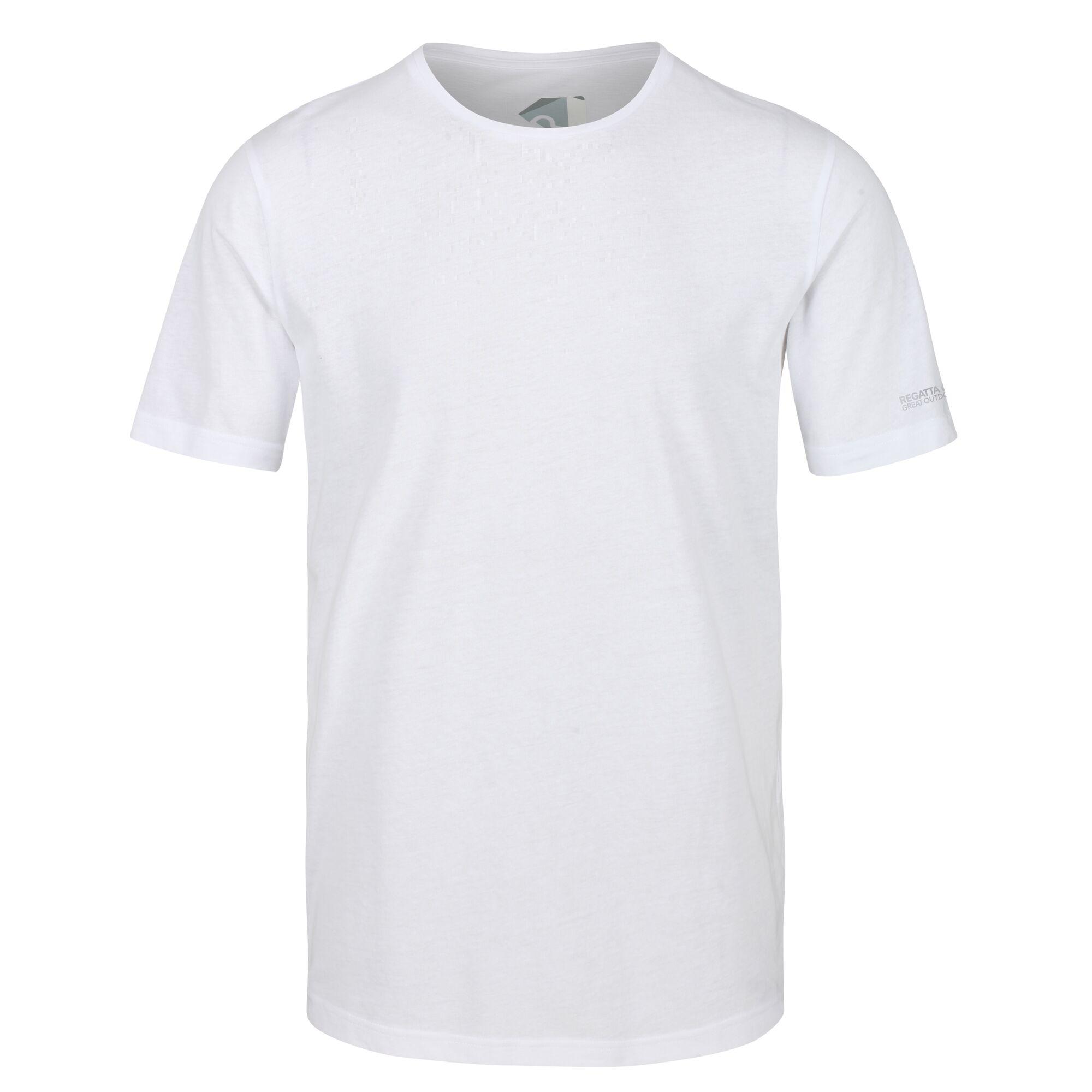 Regatta Mens Tait Lightweight Active T-Shirt (2XL) (White)