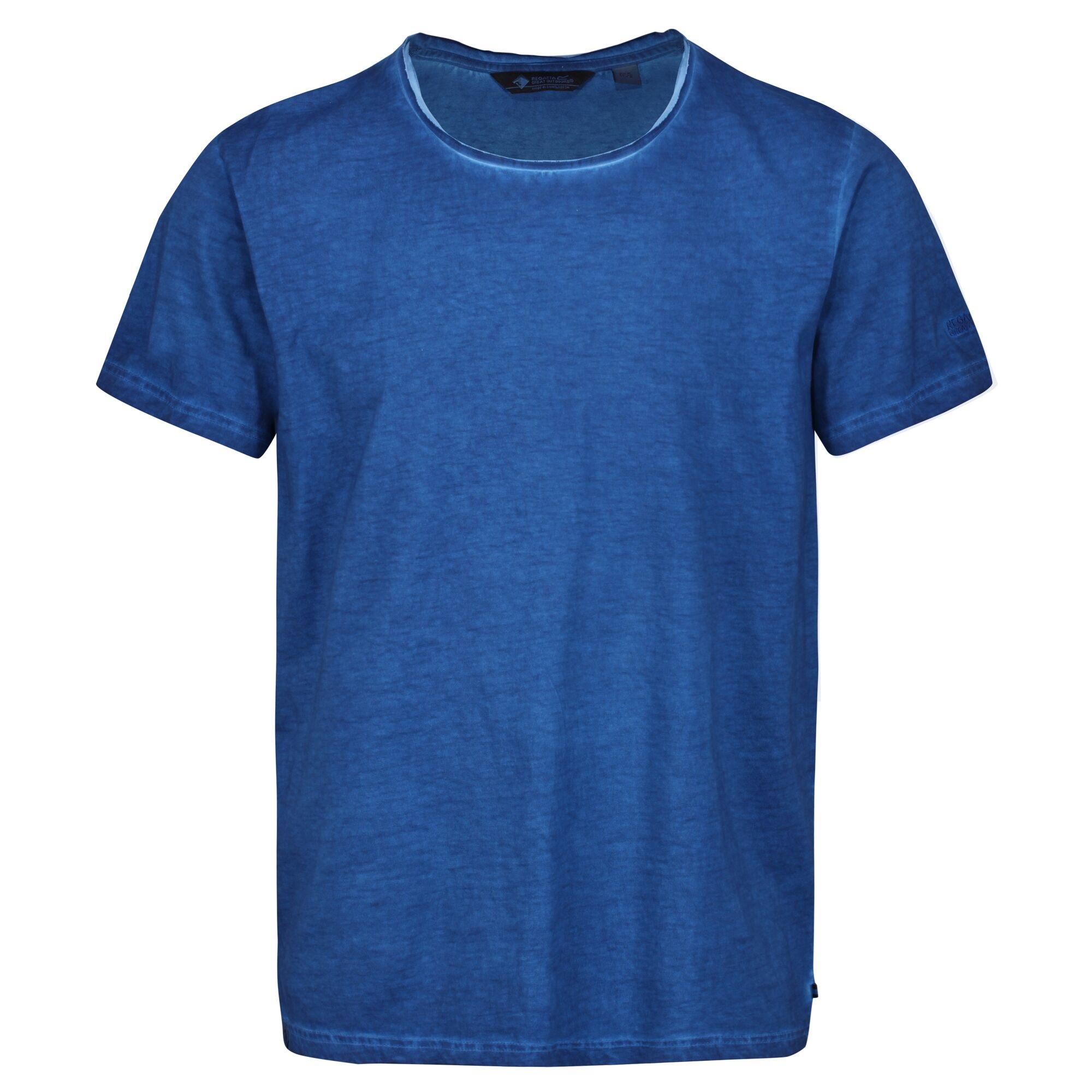 Regatta Mens Calmon T-Shirt (S) (Nautical Blue)